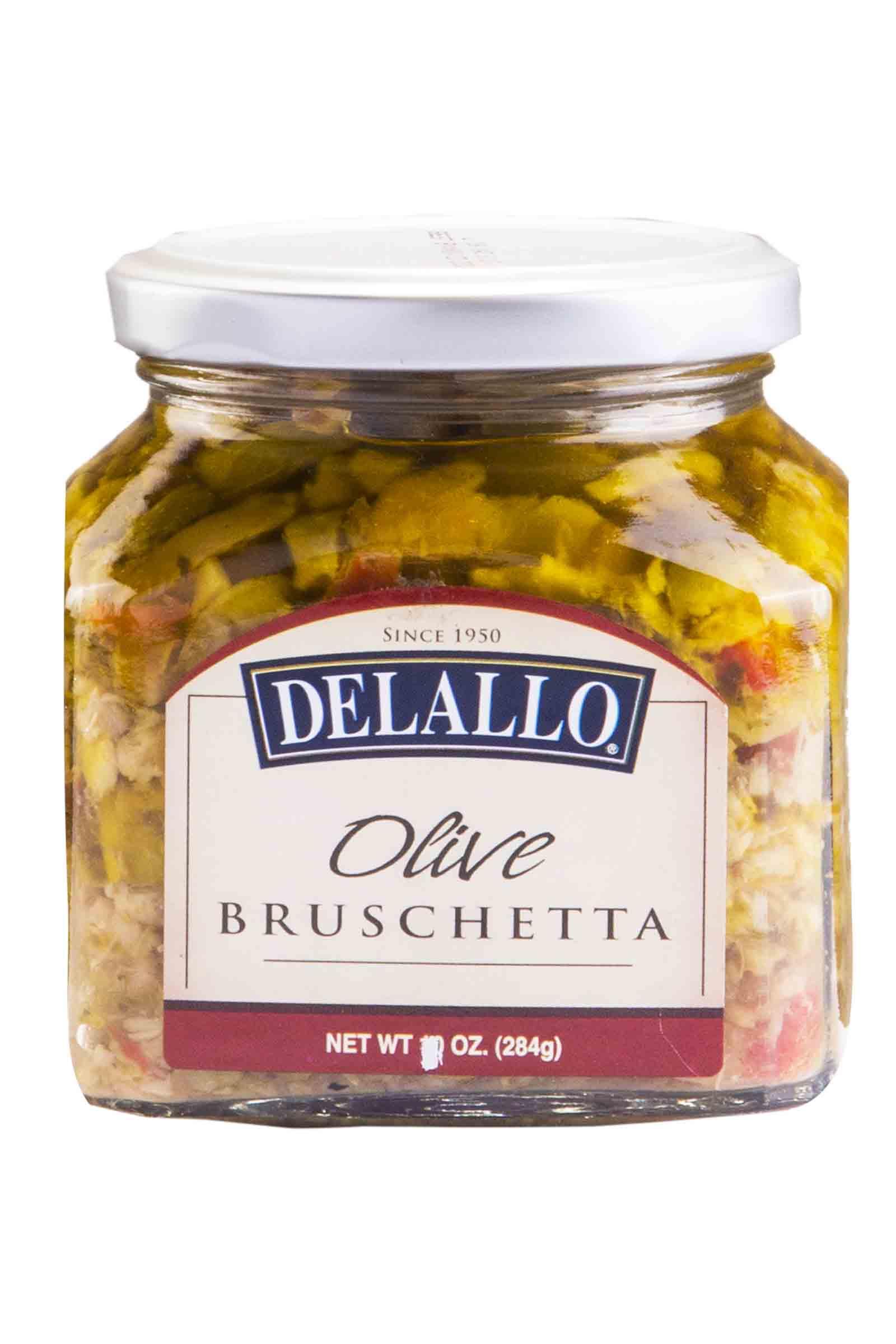 Delallo Bruschetta de Aceituna 10oz
