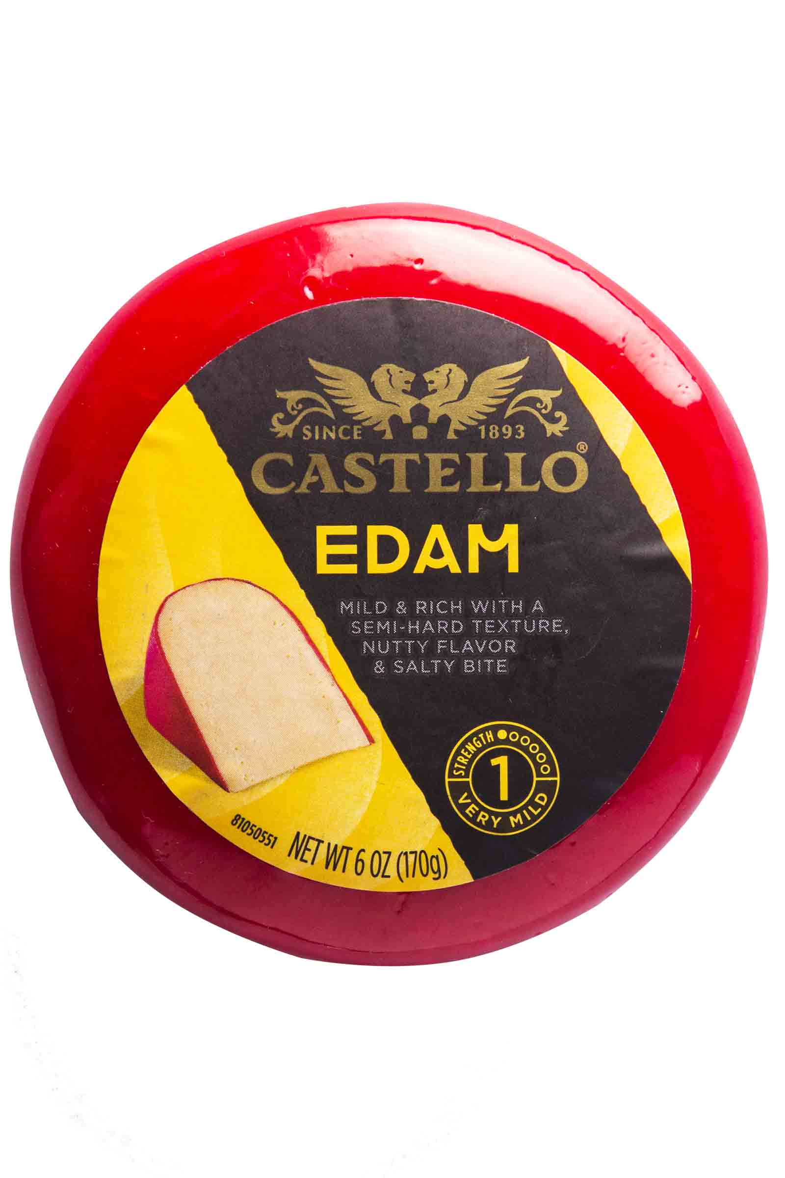 Castello Queso Edam Redondo 6oz