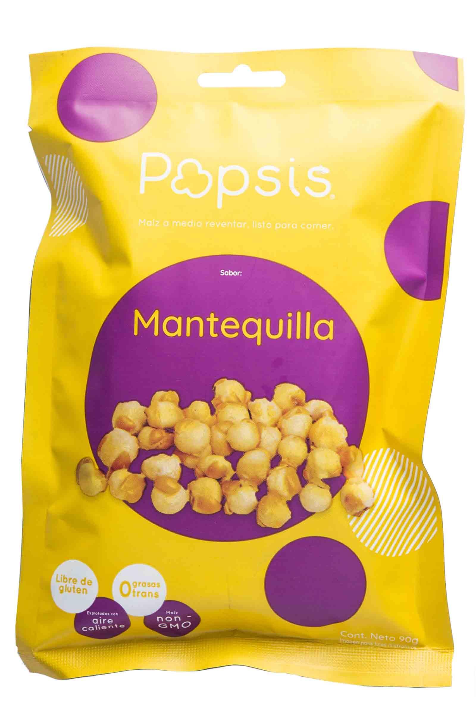 Popsis Sabor Mantequilla 90gr