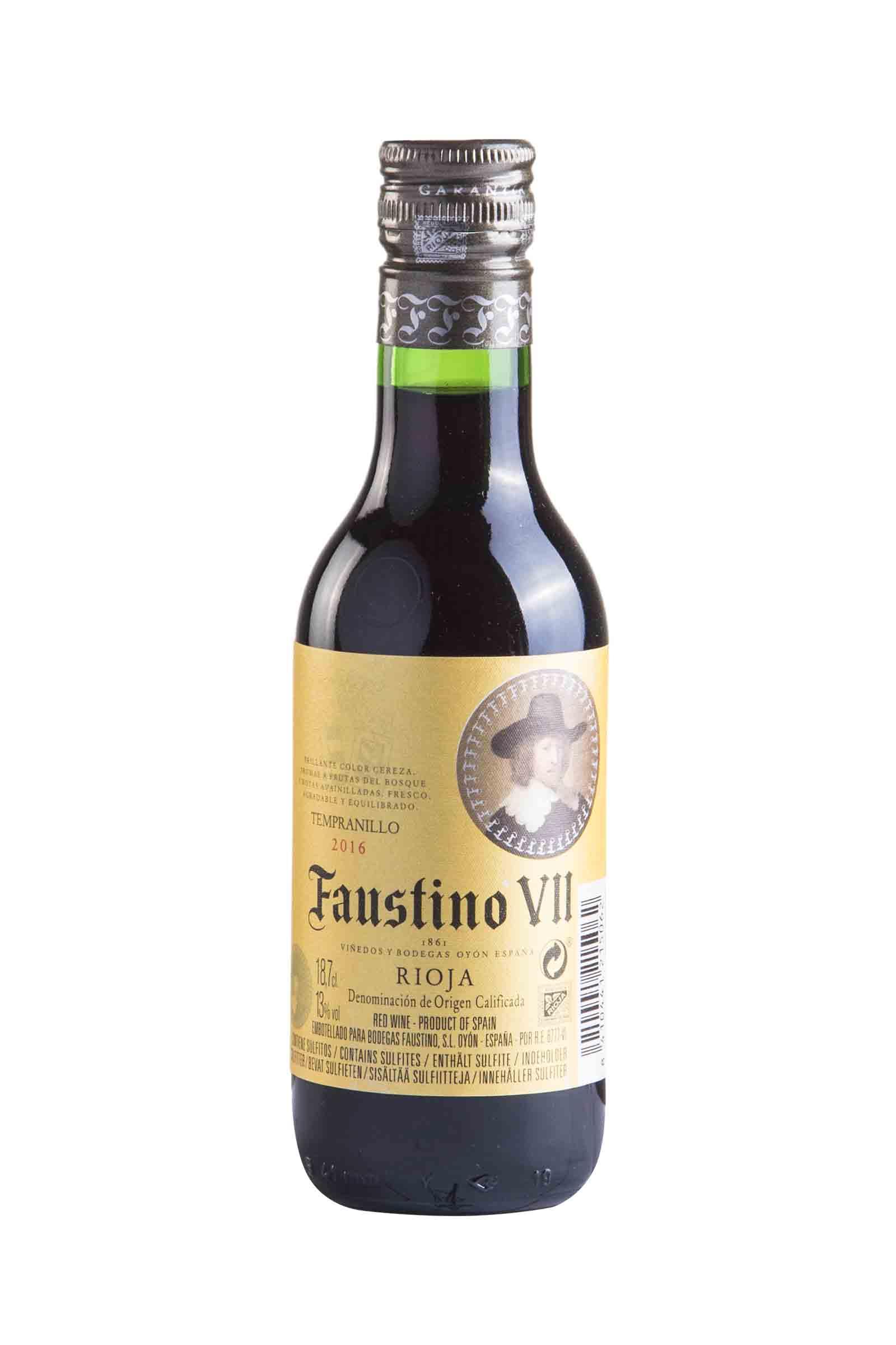 Vino Faustino VII 187.5ml