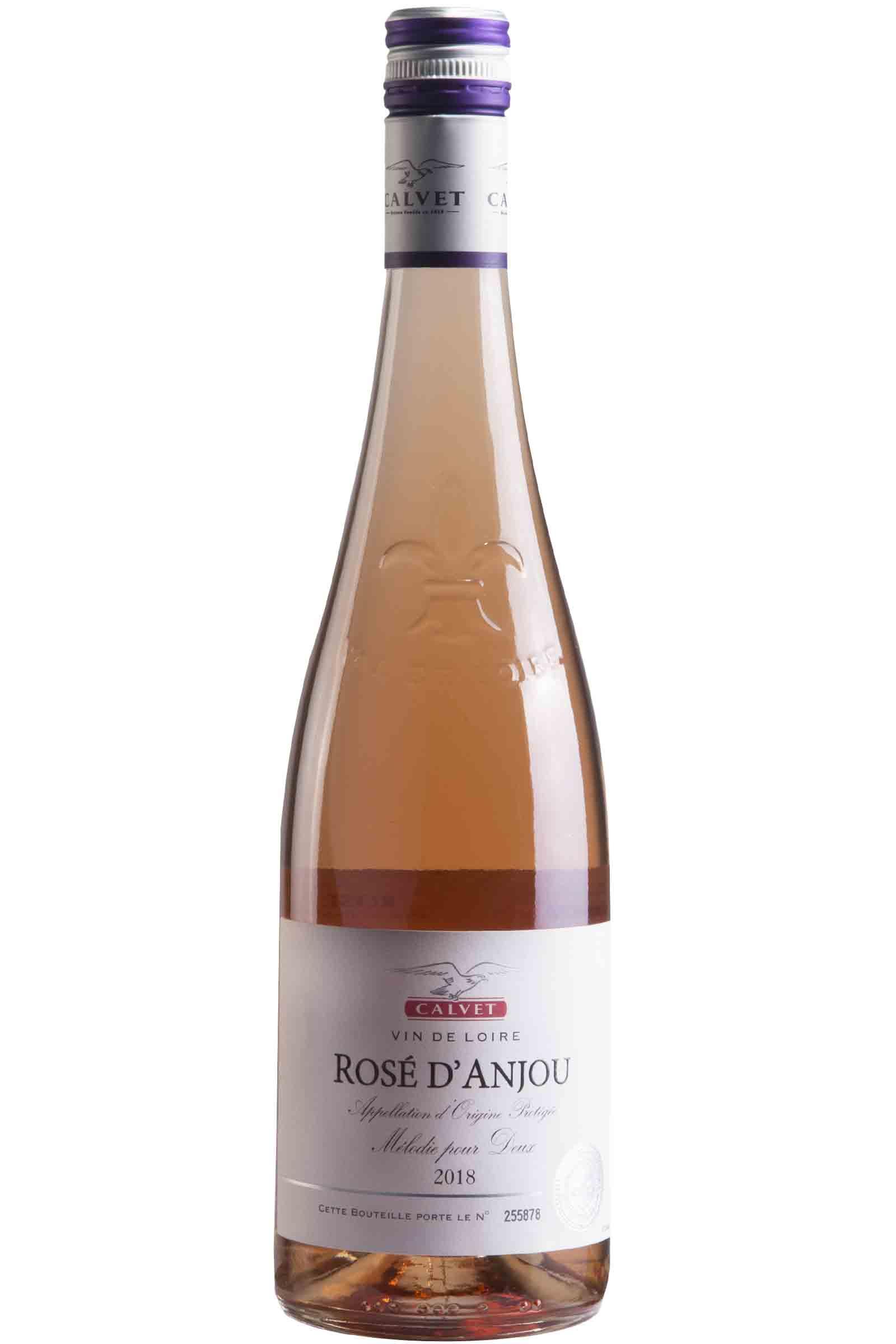 Vino Calvet Rose Anjou 750ml