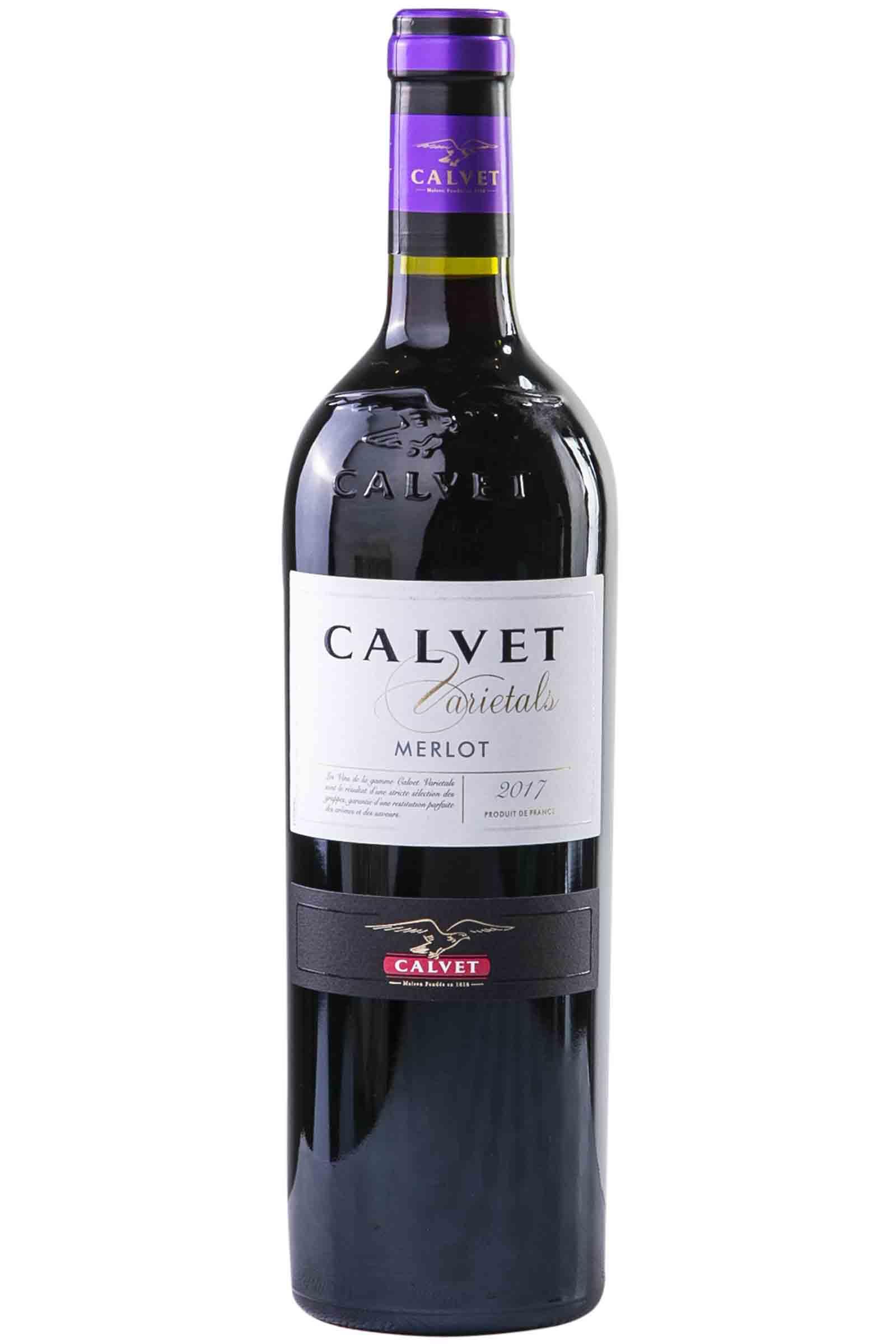 Vino Calvet Varietal Merlot 750ml