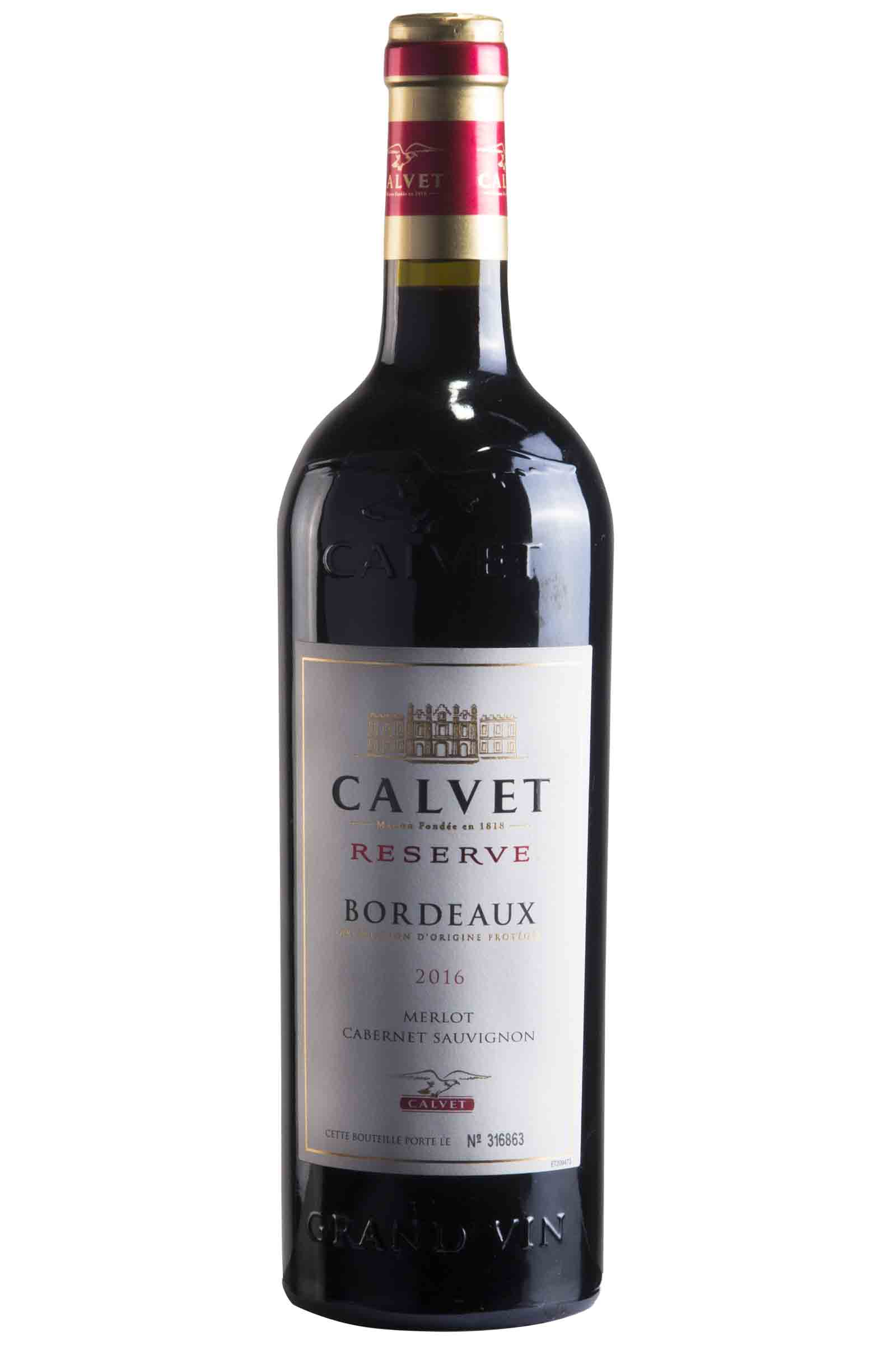 Vino Calvet Bordeaux Reserva 750ml