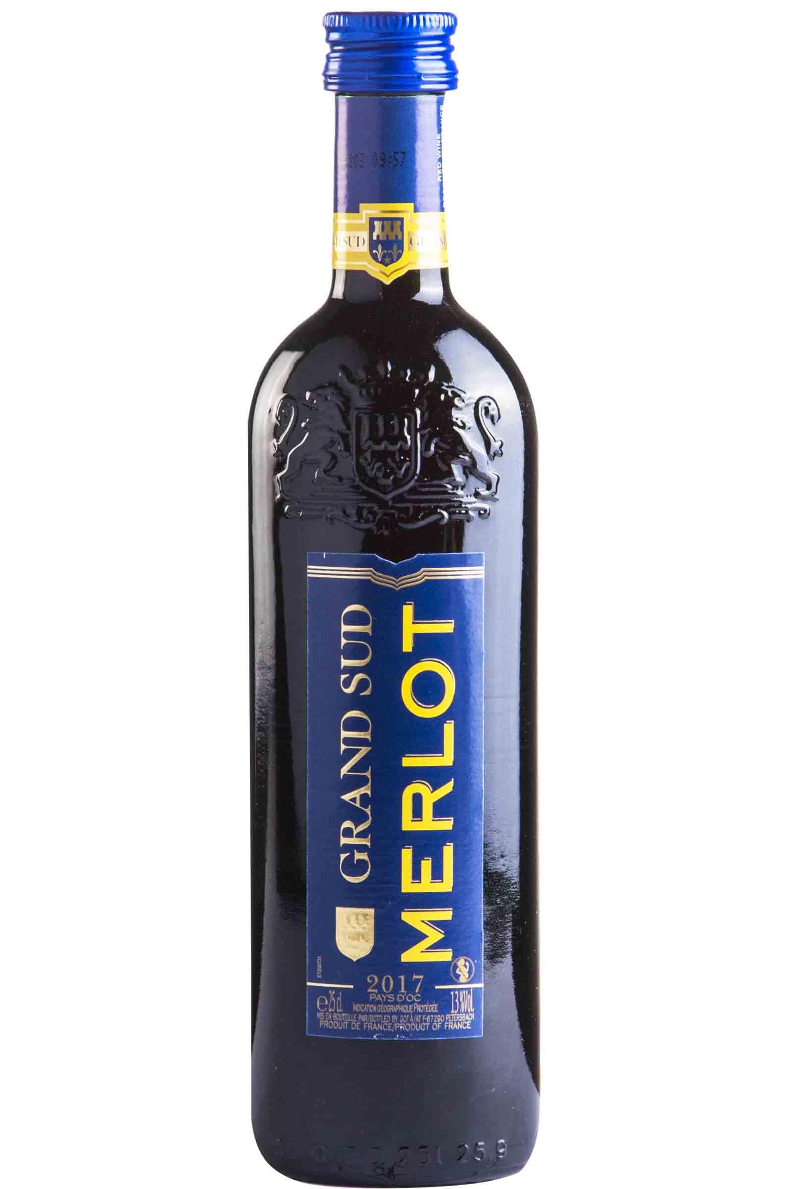Vino Grand Sud Merlot 250ml