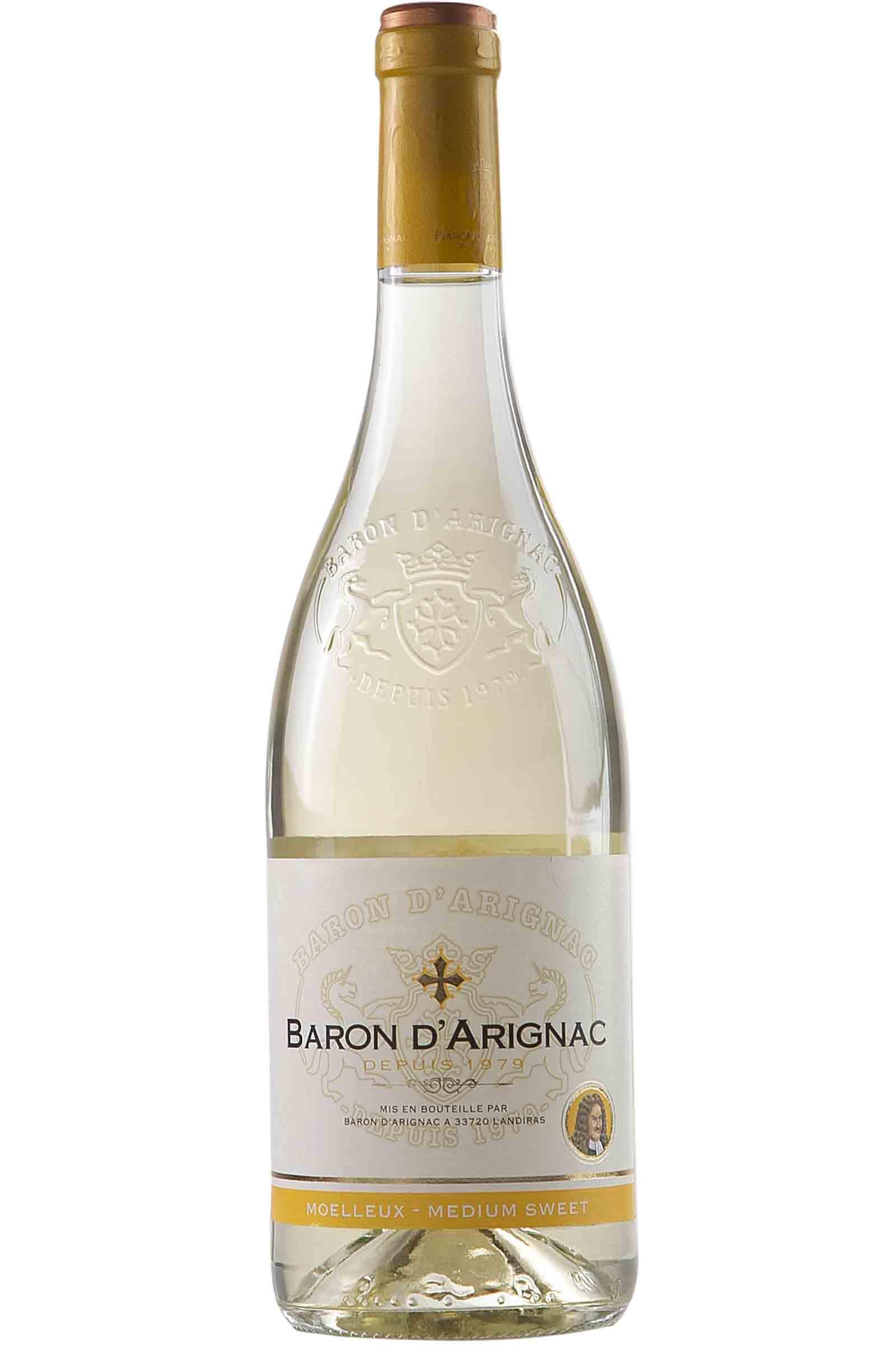 Vino Baron D'Arignac Blanco Semidulce 750ml