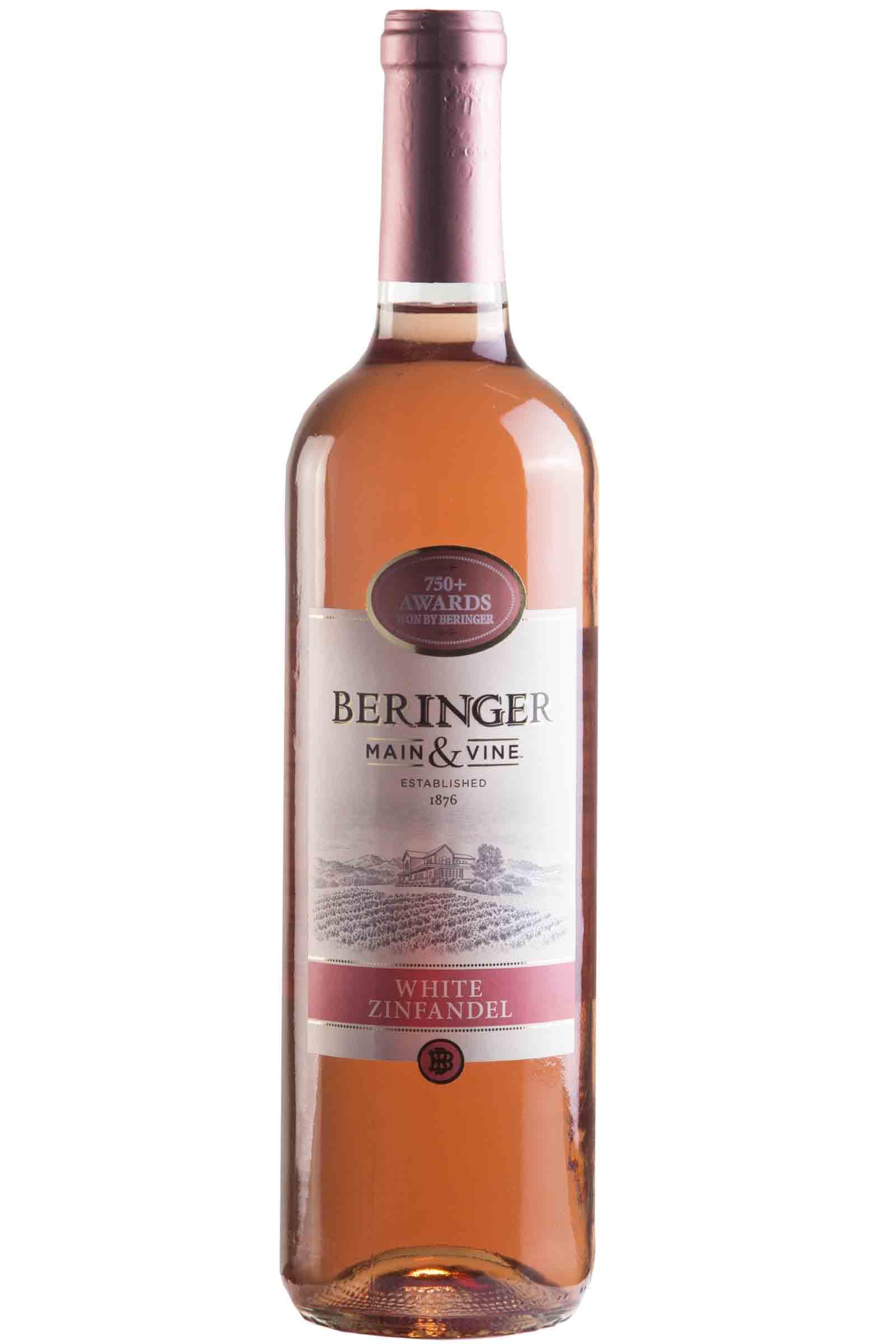 Vino Beringer Main & Wine White Zinfandel 750ml