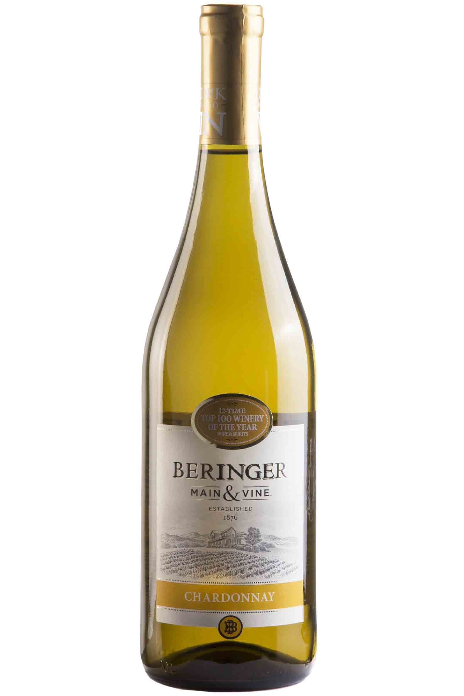 Vino Beringer Main & Wine Chardonnay 750ml