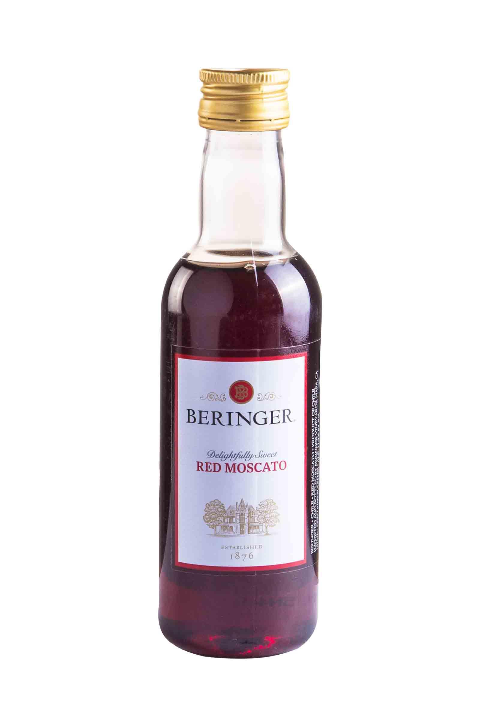 Vino Beringer Main & Wine Red Moscato 187.5ml