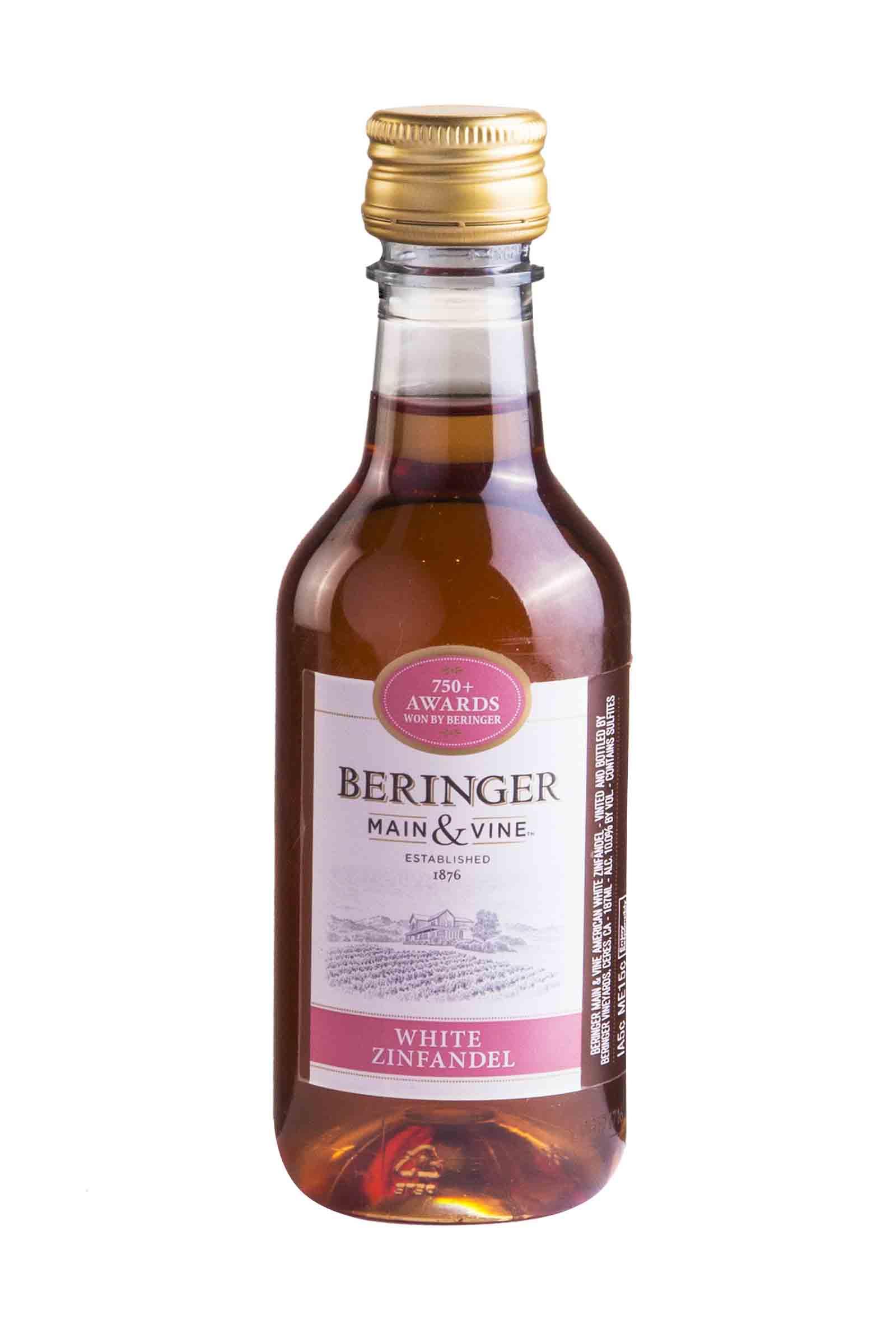 Vino Beringer Main & Wine White Zinfandel 187.5ml