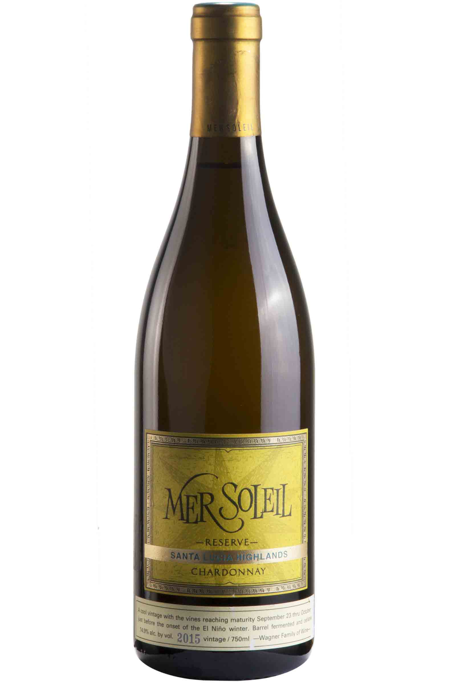 Vino Mer Soleil Reserva Chardonnay 750ml