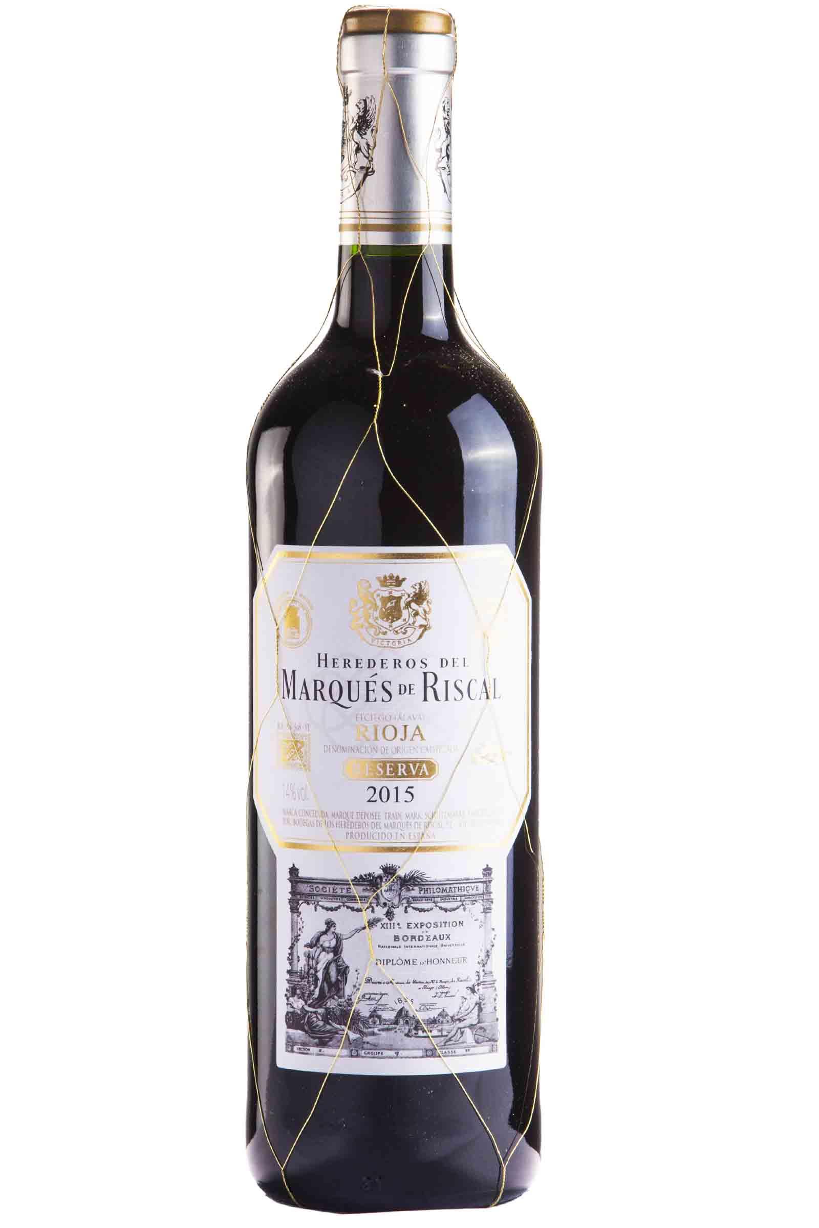Vino Marques de Riscal Reserva 750ml