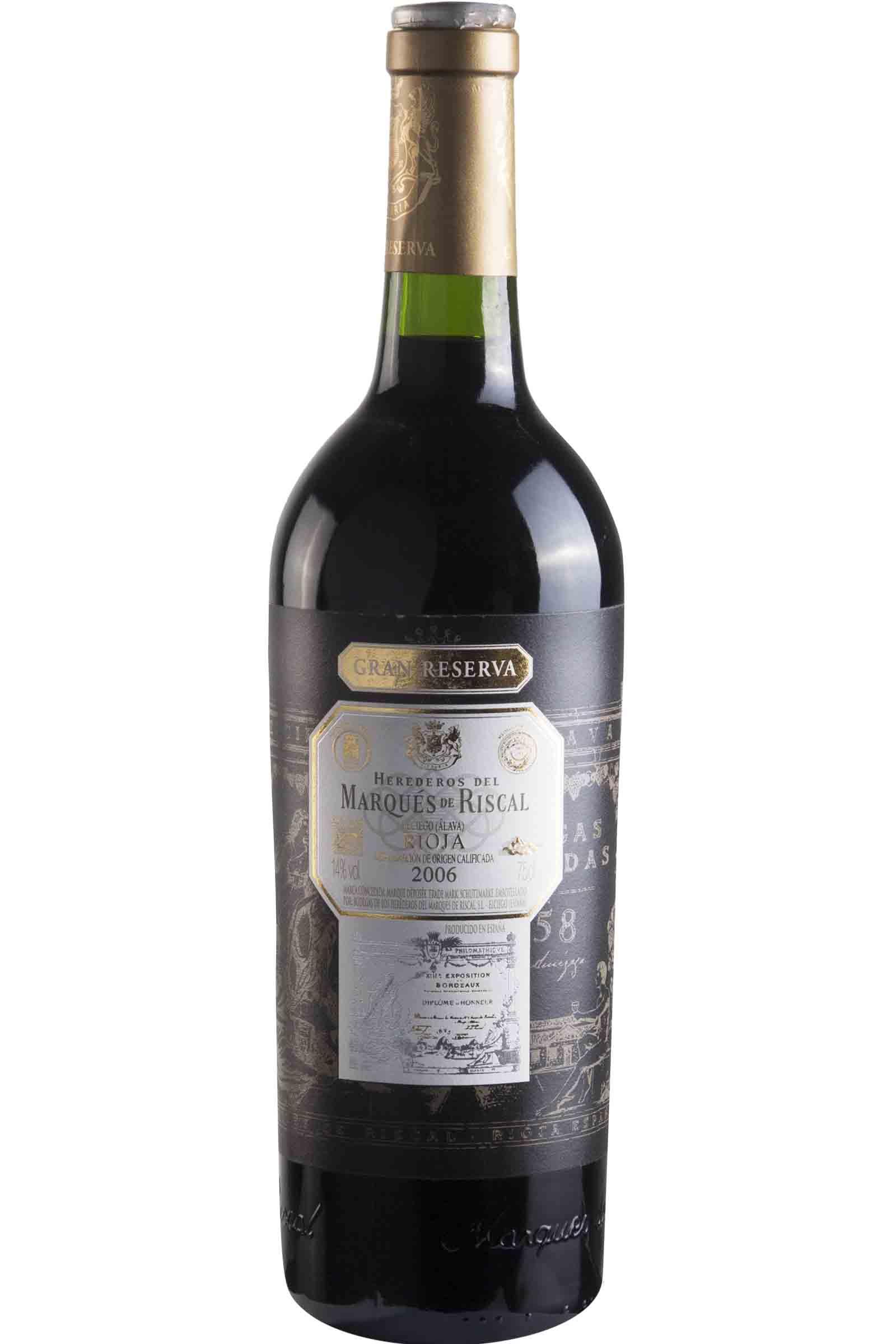Vino Marques de Riscal Gran Reserva 750ml