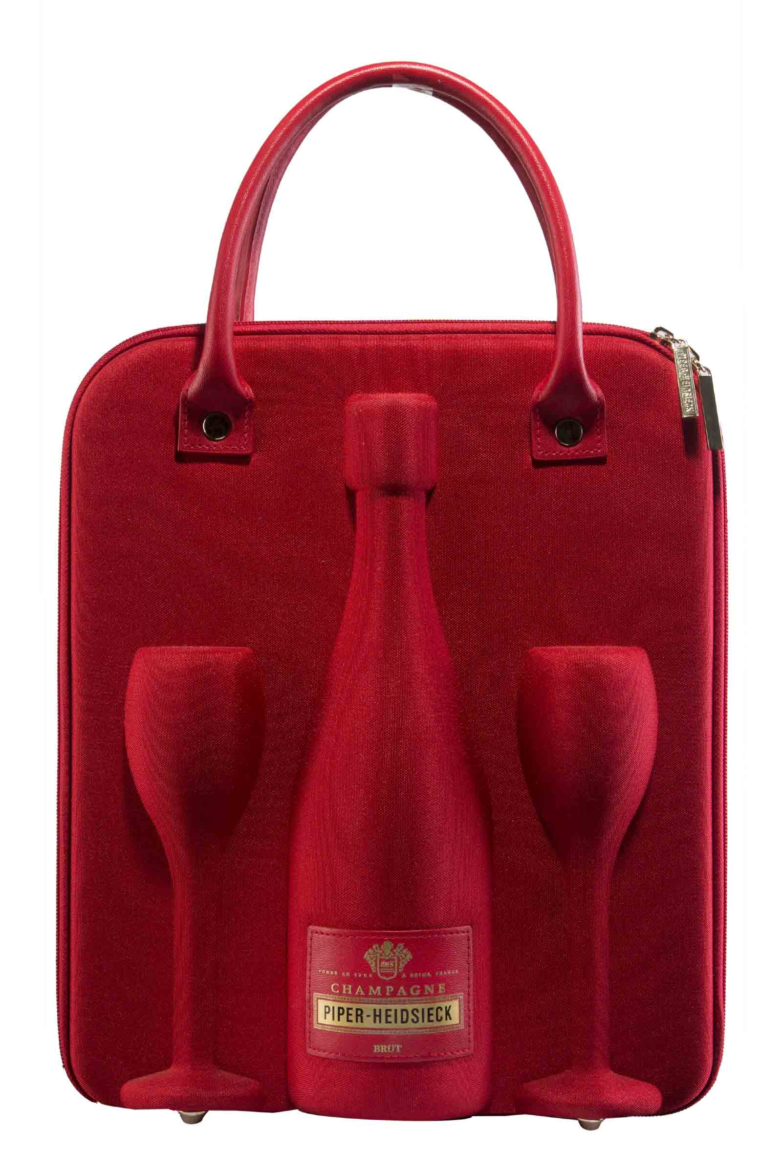 Gift Pack Champagne Piper Heidsieck Brut Travel Set 750ml