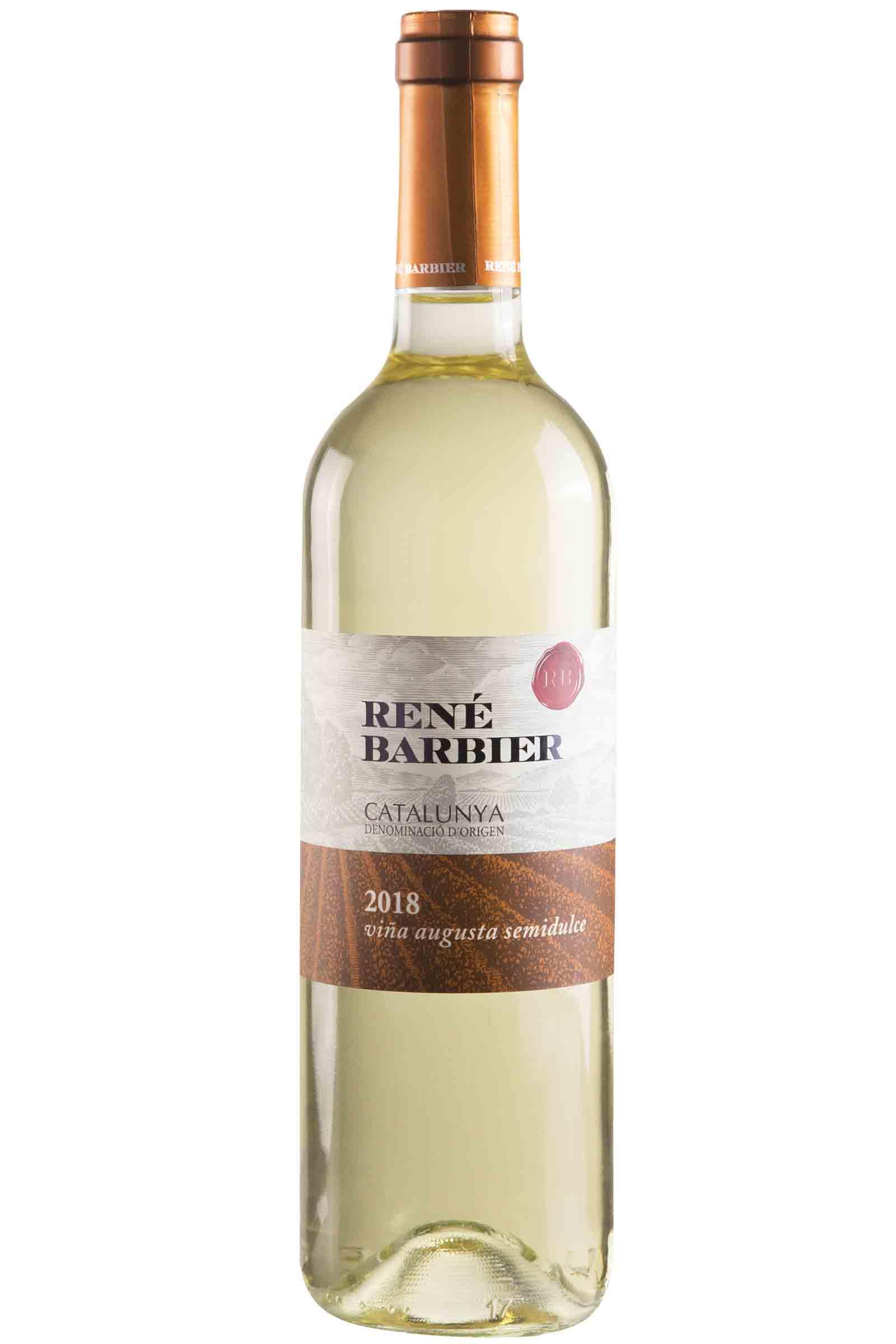 Vino Rene Barbier Blanco Semidulce 750ml