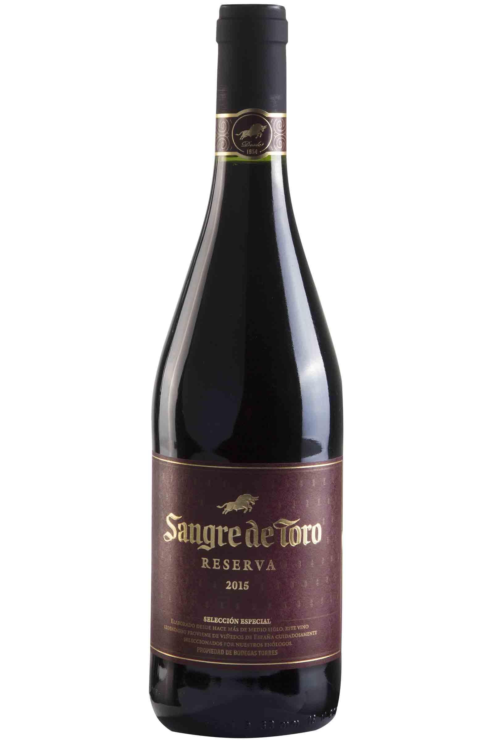 Vino Torres Sangre De Toro Reserva 750ml