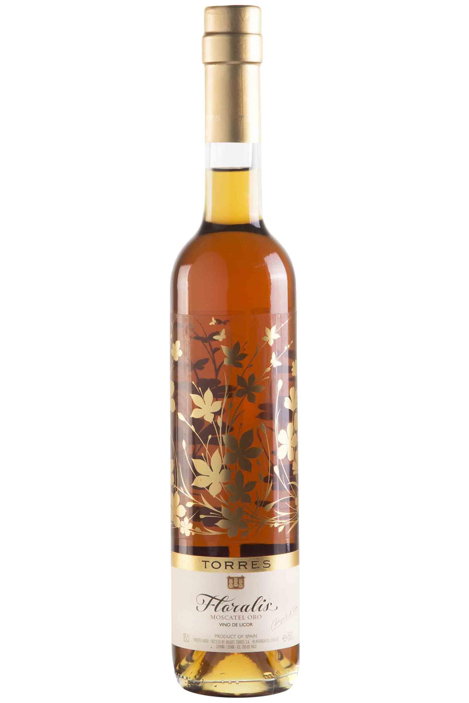 Vino Torres Floralis Moscatel Oro 500ml