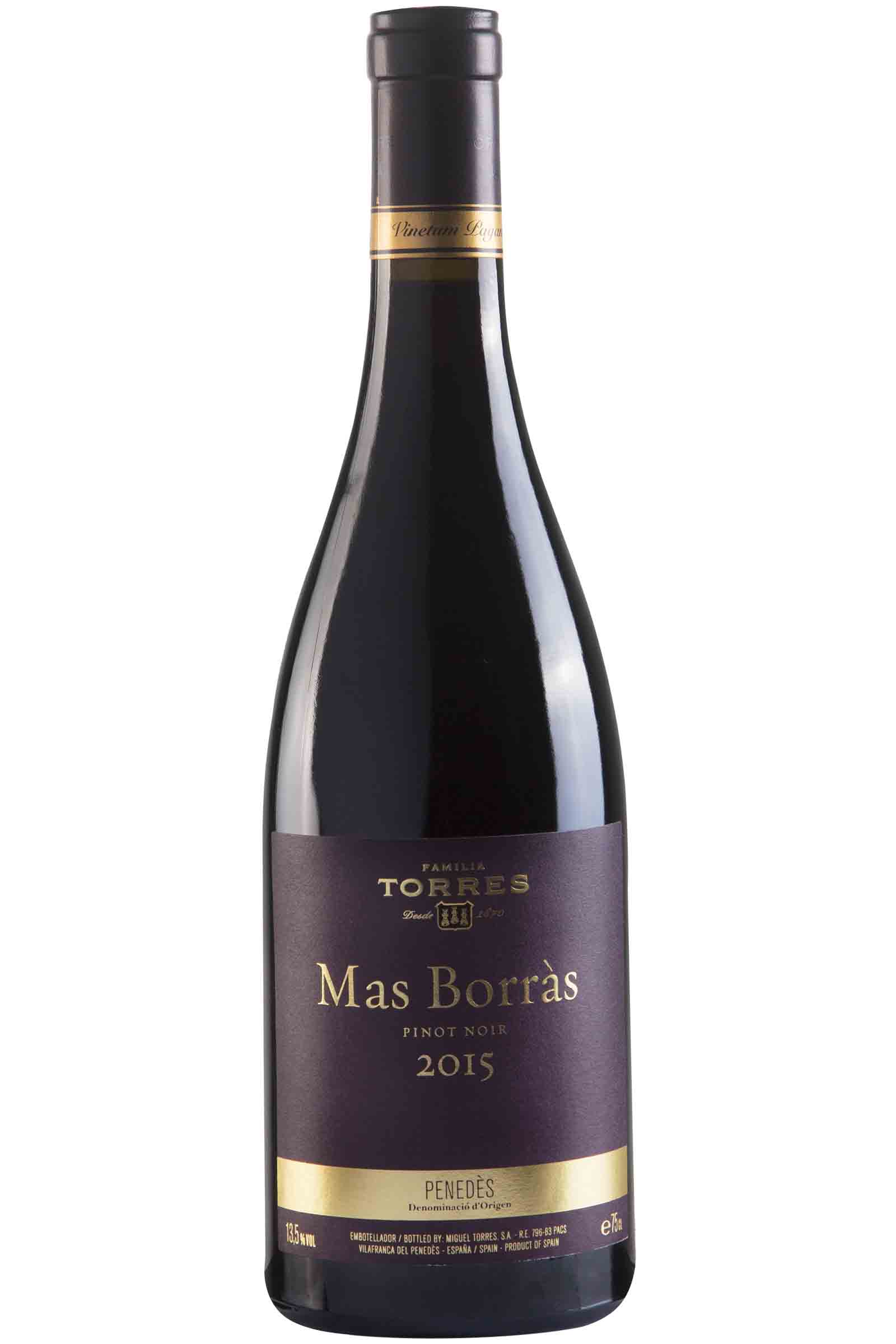 Vino Torres Mas Borràs Pinot Noir 750ml