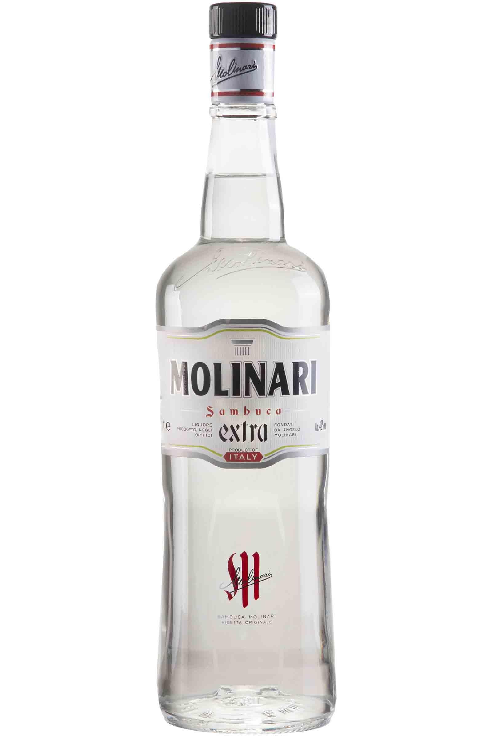 Licor Sambuca Molinari Sambuca Extra 1000ml