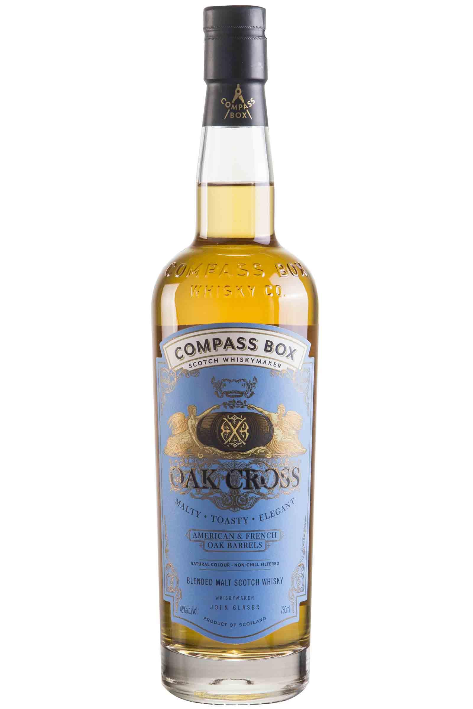 Whisky Compass Box Oak Cross 750ml