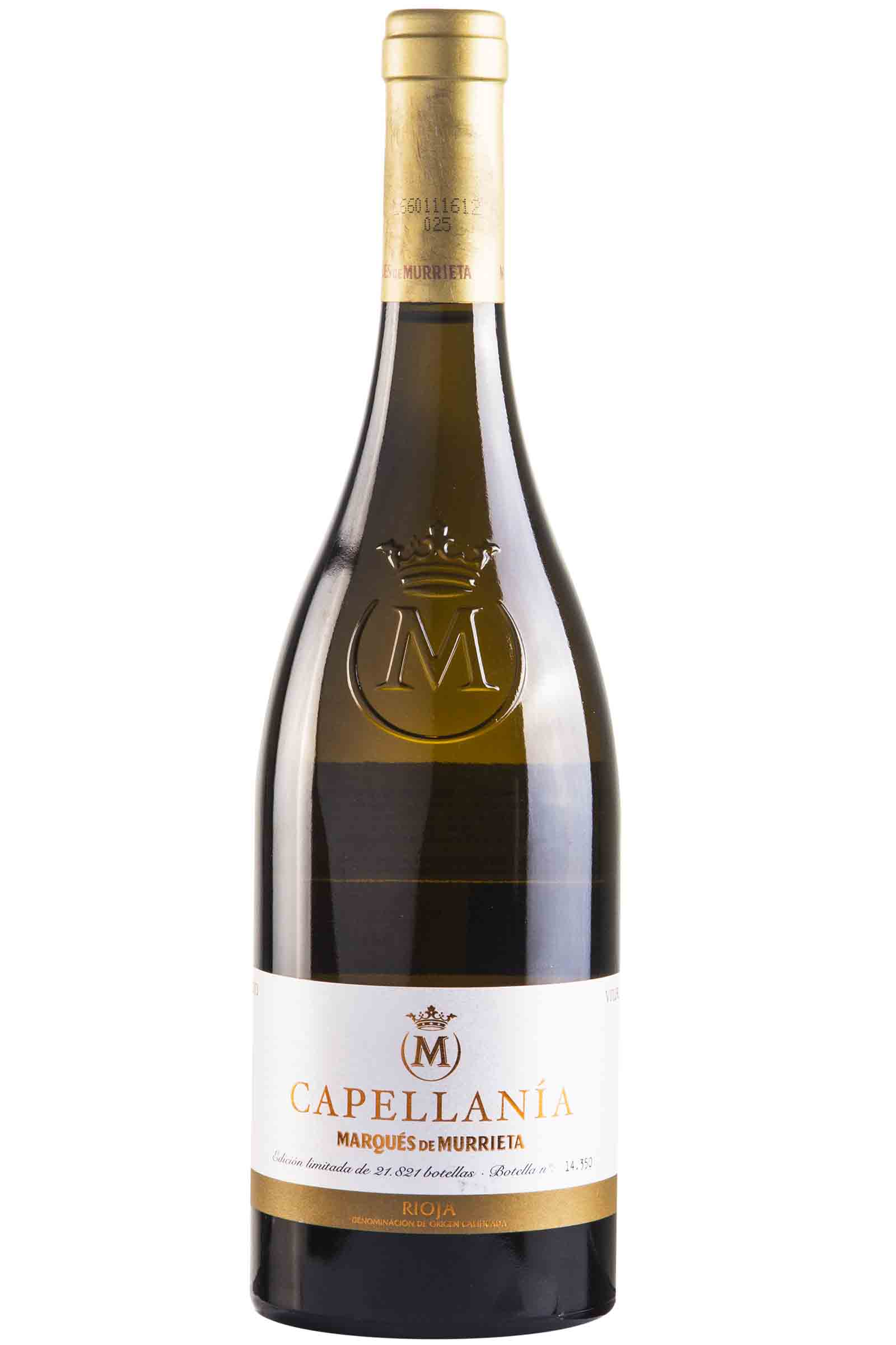Vino Marques De Murriet Reserva Capellania 750ml