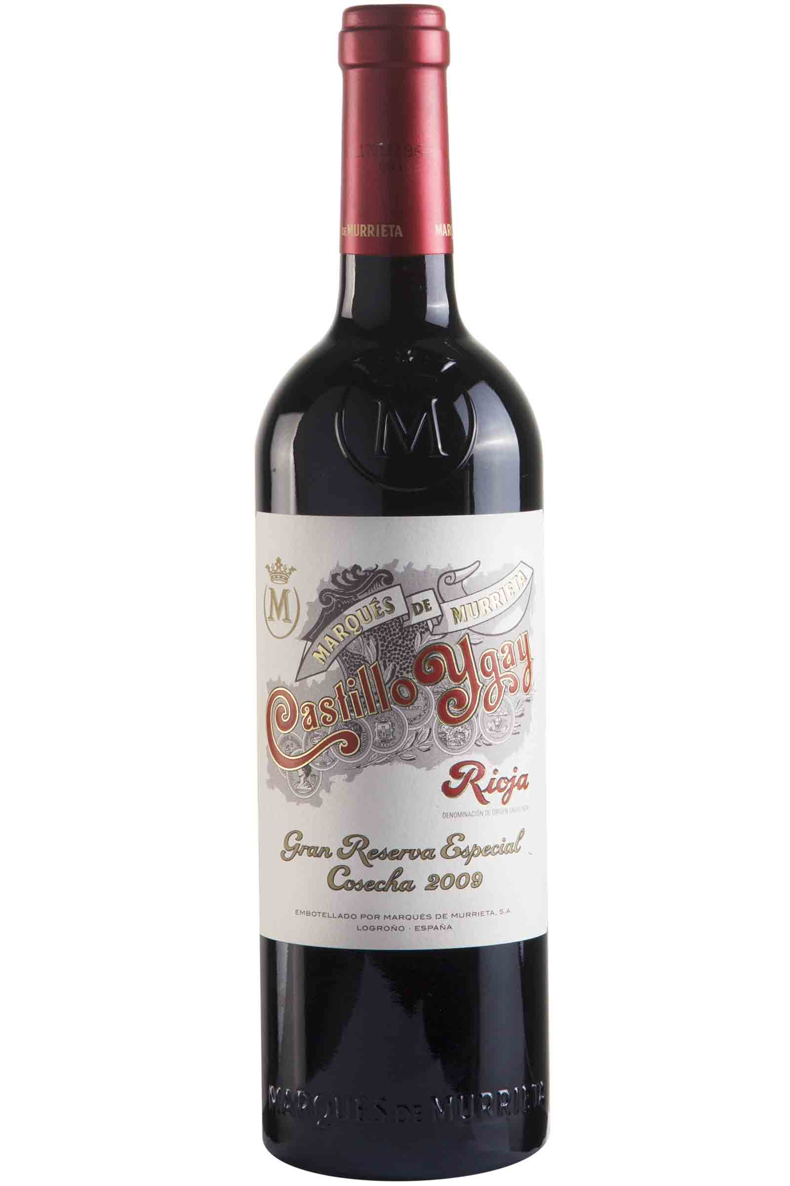 Vino Castillo Ygay 750ml