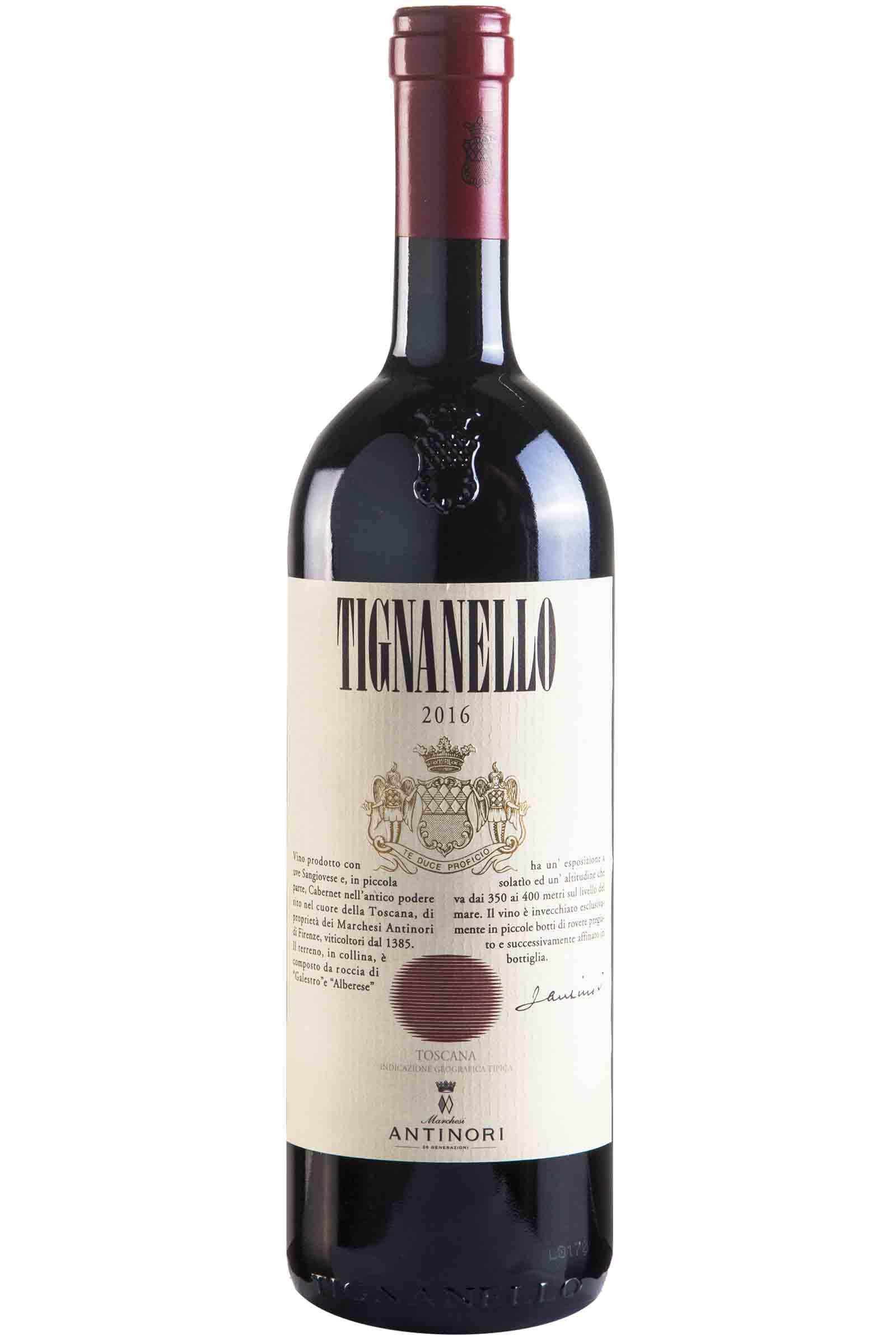 Vino Marchesi Antinori Tignanello 750ml