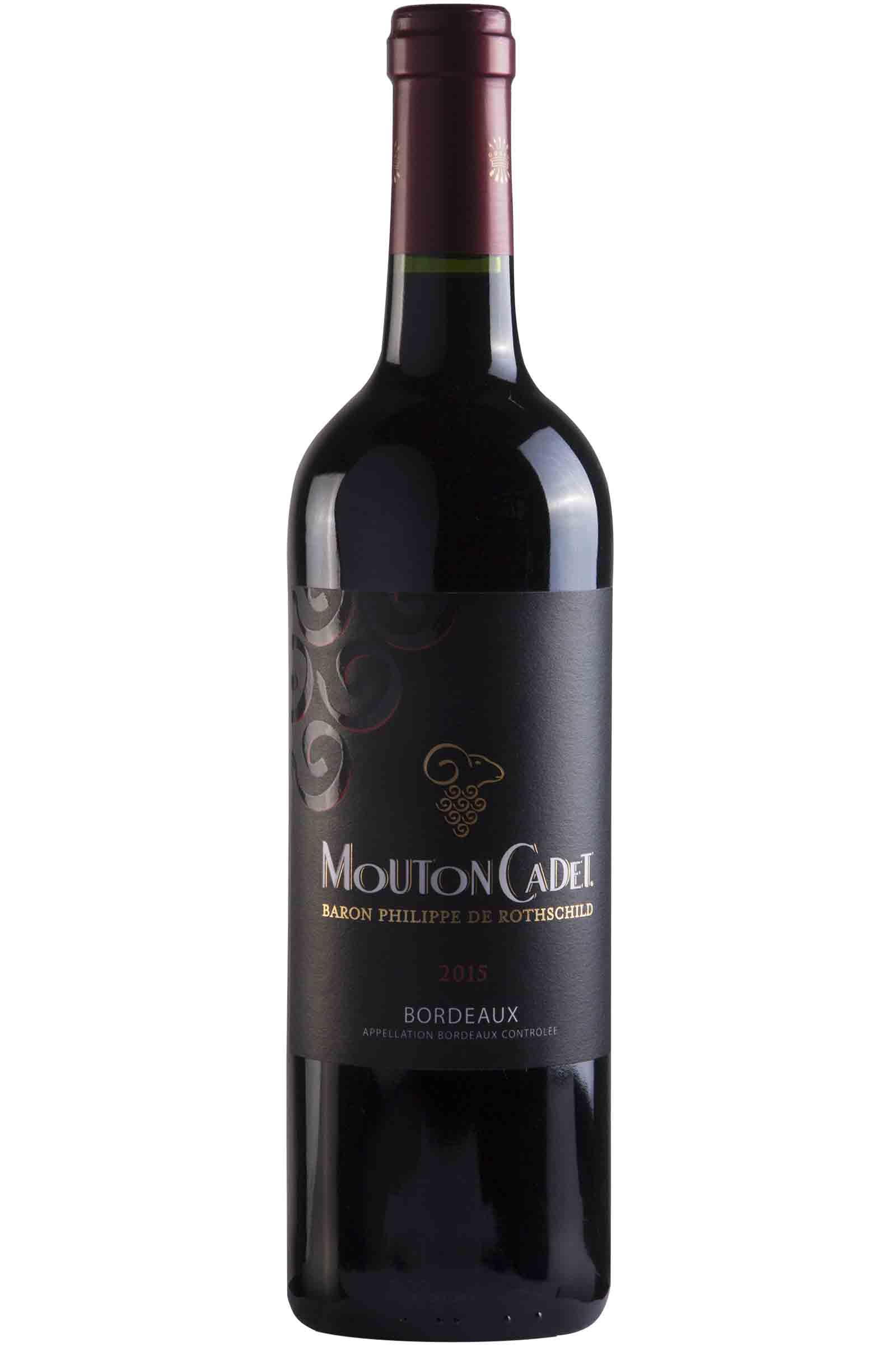Vino Mouton Cadet Bordeaux Rouge 750ml