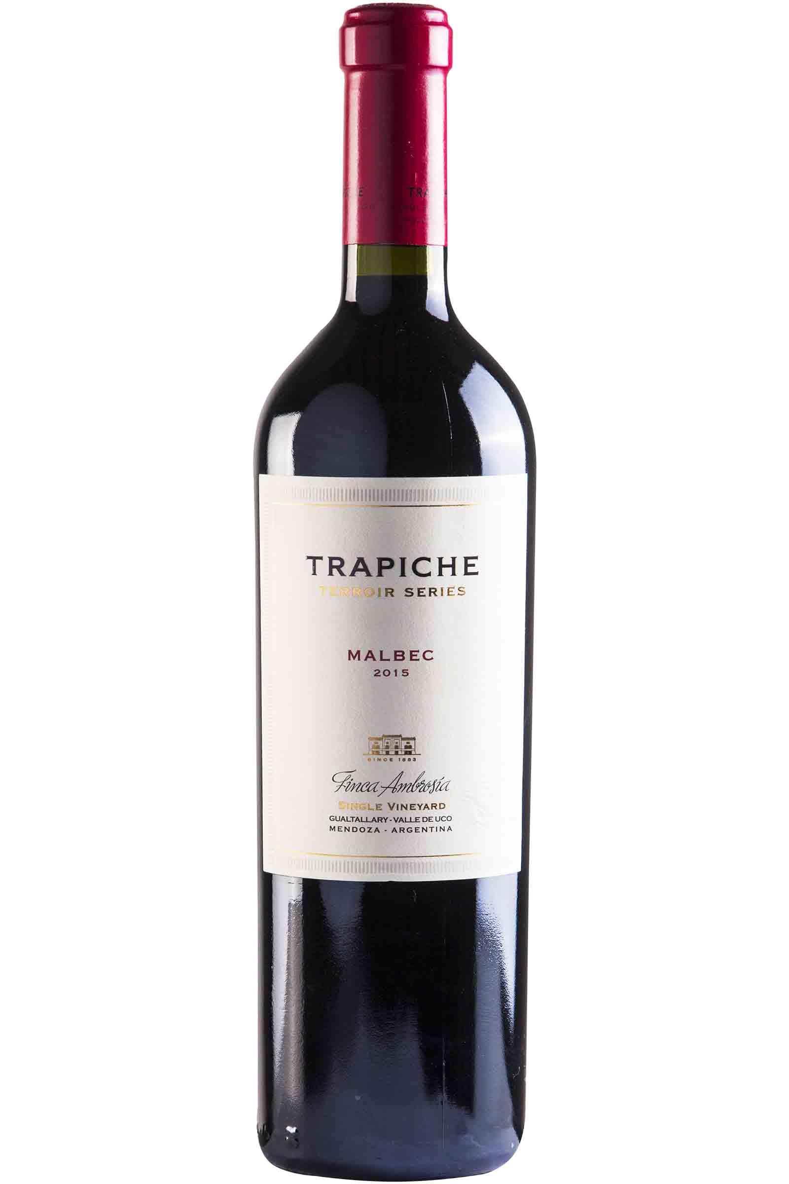 Vino Trapiche Terroir Ambrosía Malbec 750ml