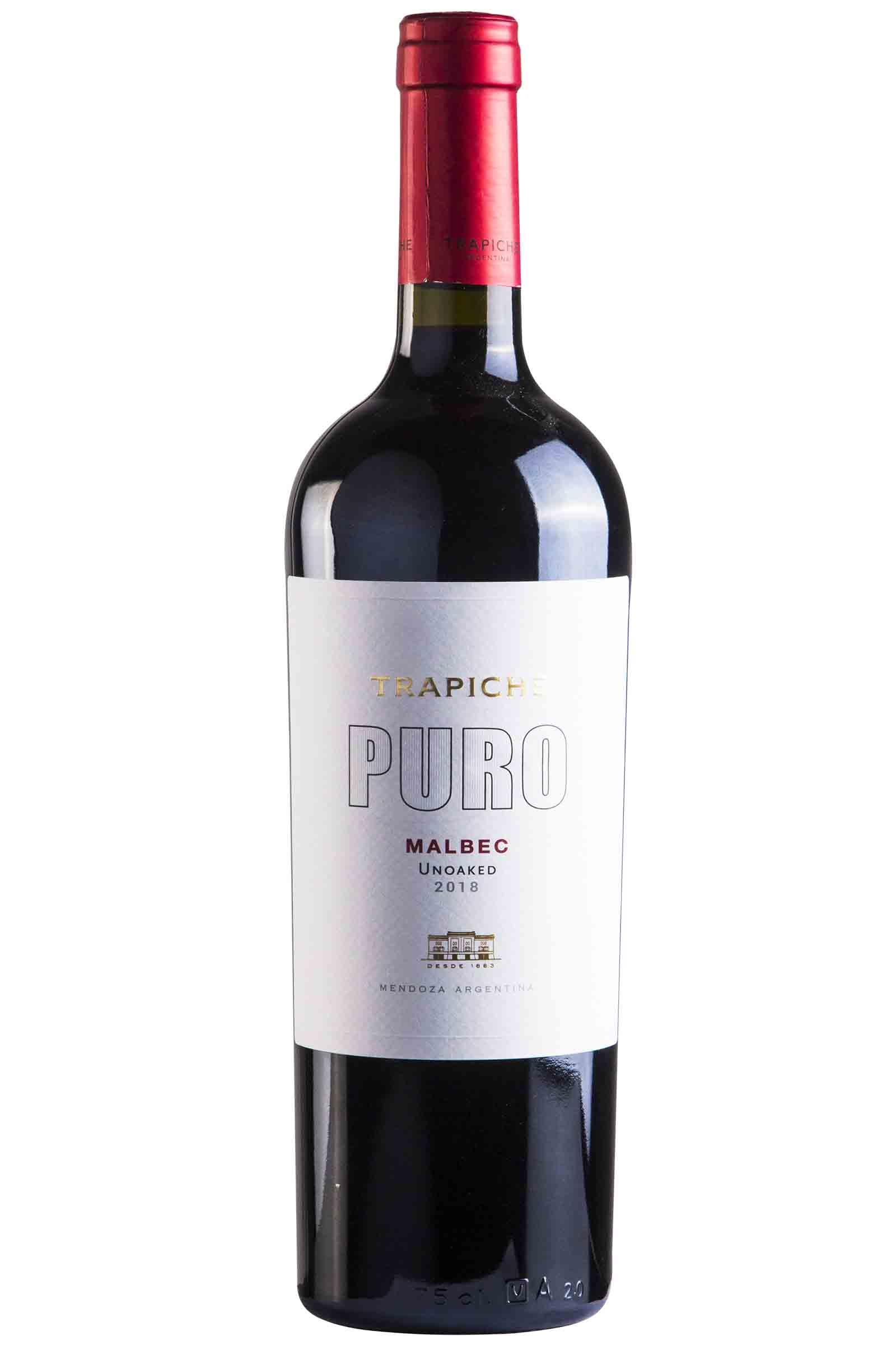 Vino Trapiche Puro Malbec 750ml