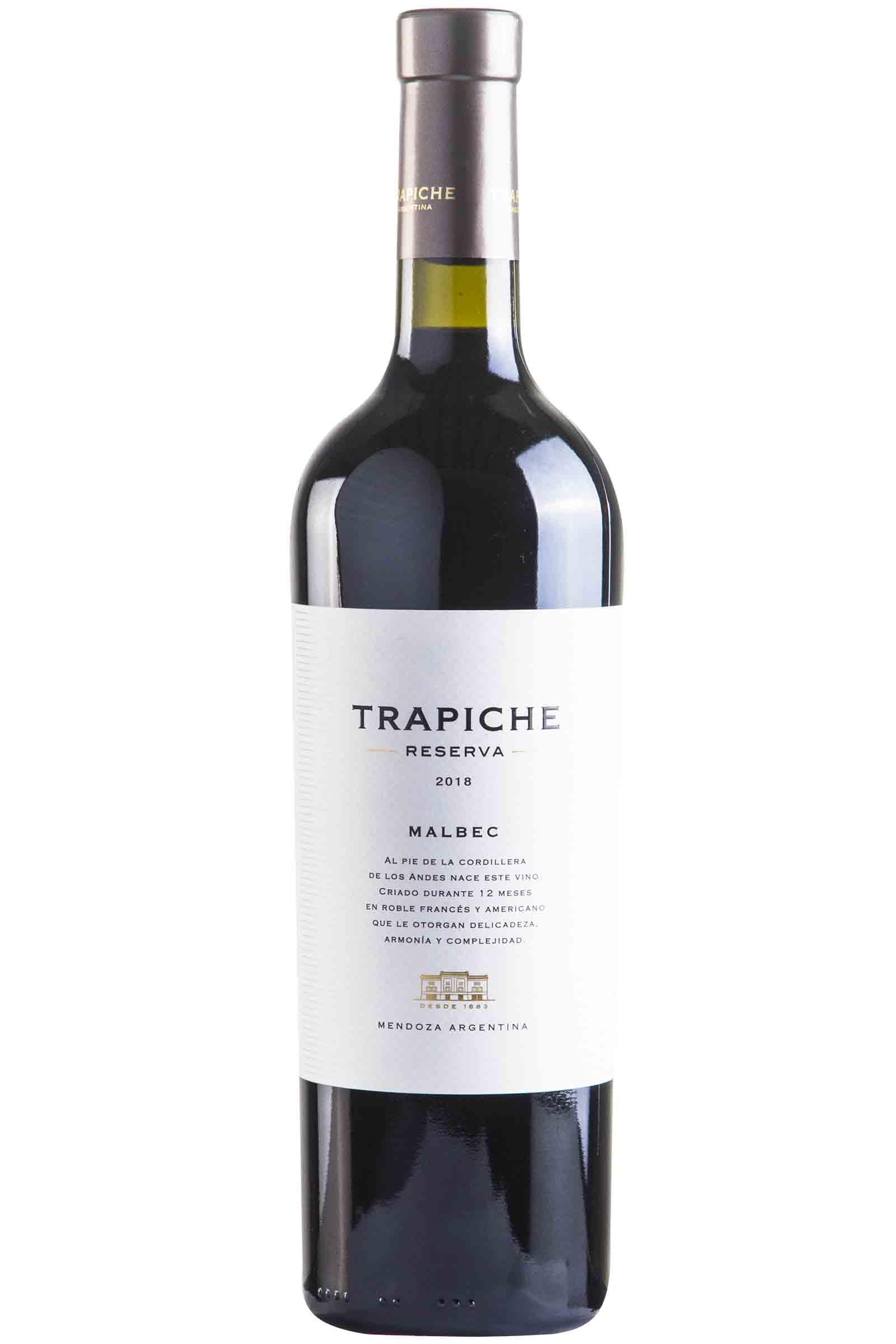 Vino Trapiche Reserva Malbec 750ml