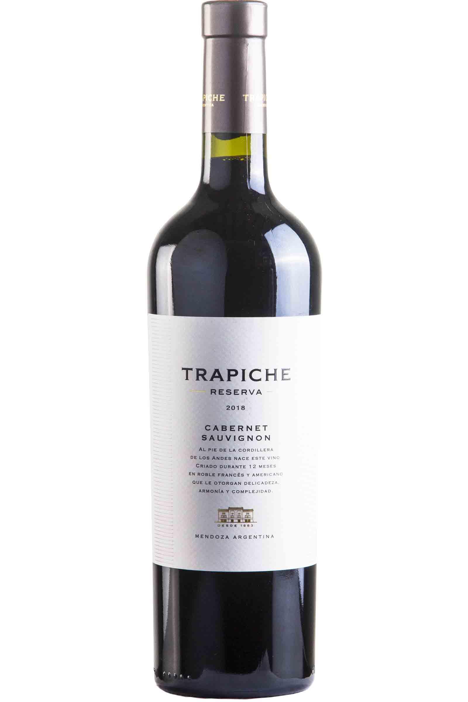 Vino Trapiche Reserva Cabernet Sauvignon 750ml