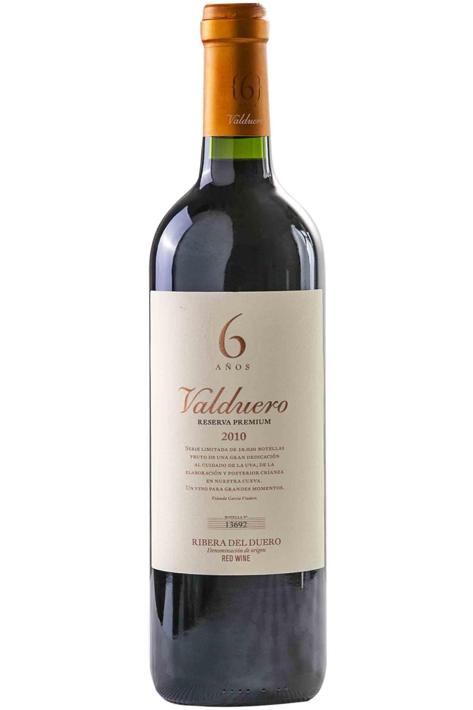 Vino Valduero Reserva Premium 6 Años 750ml