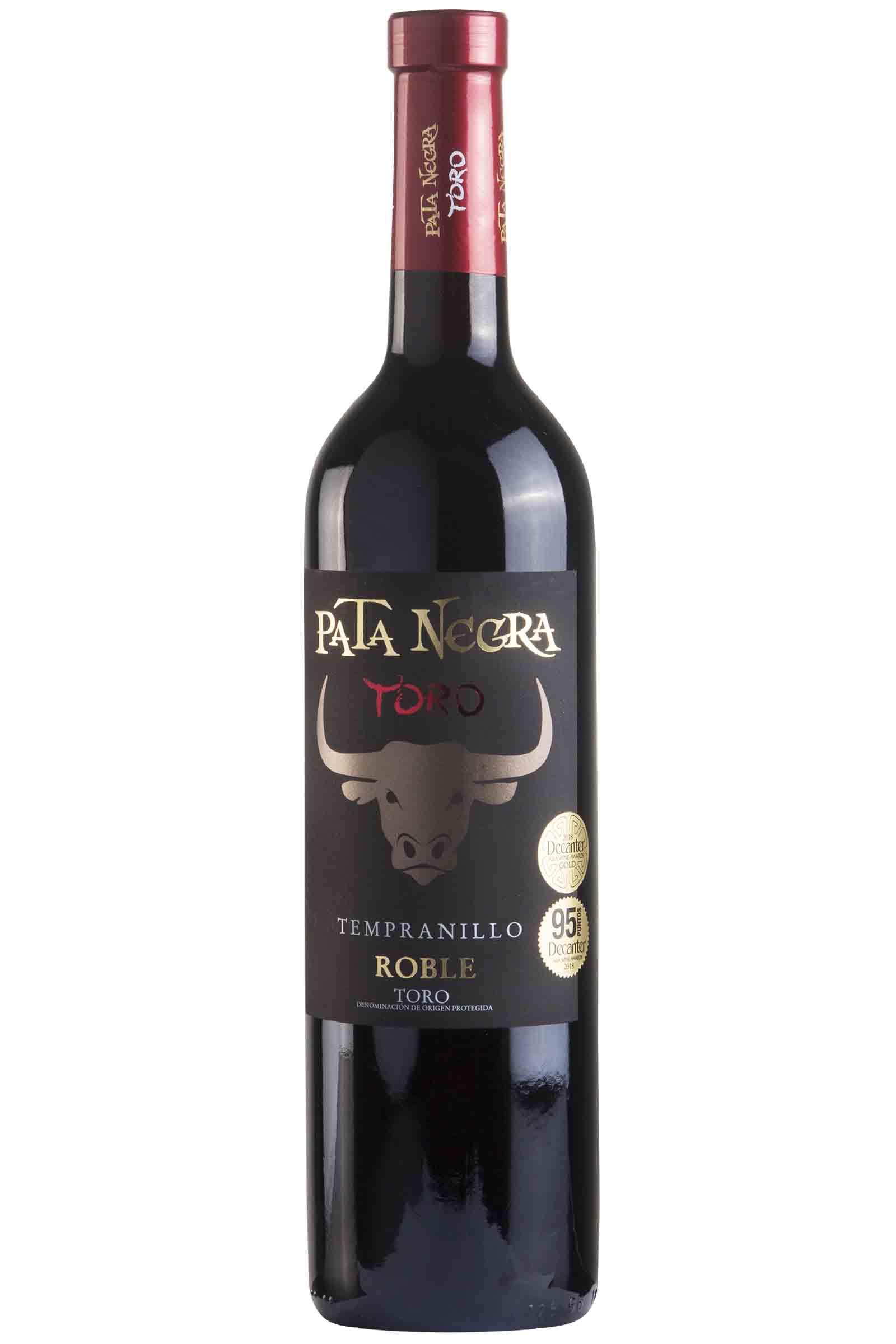 Vino Pata Negra Toro Roble 750ml