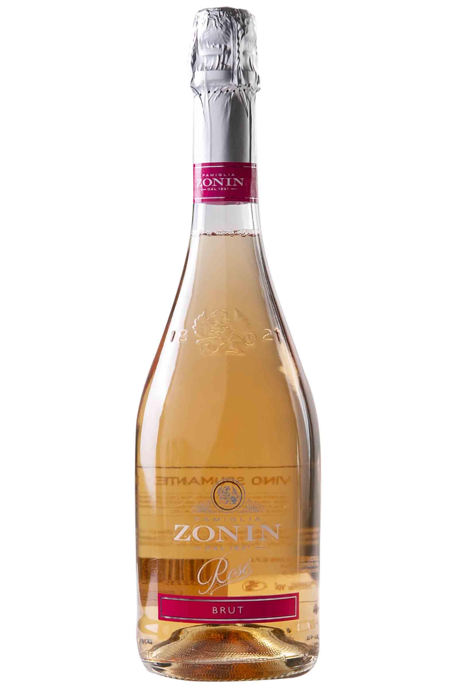 Zonin Rose Sparkling Brut 1821 750ml