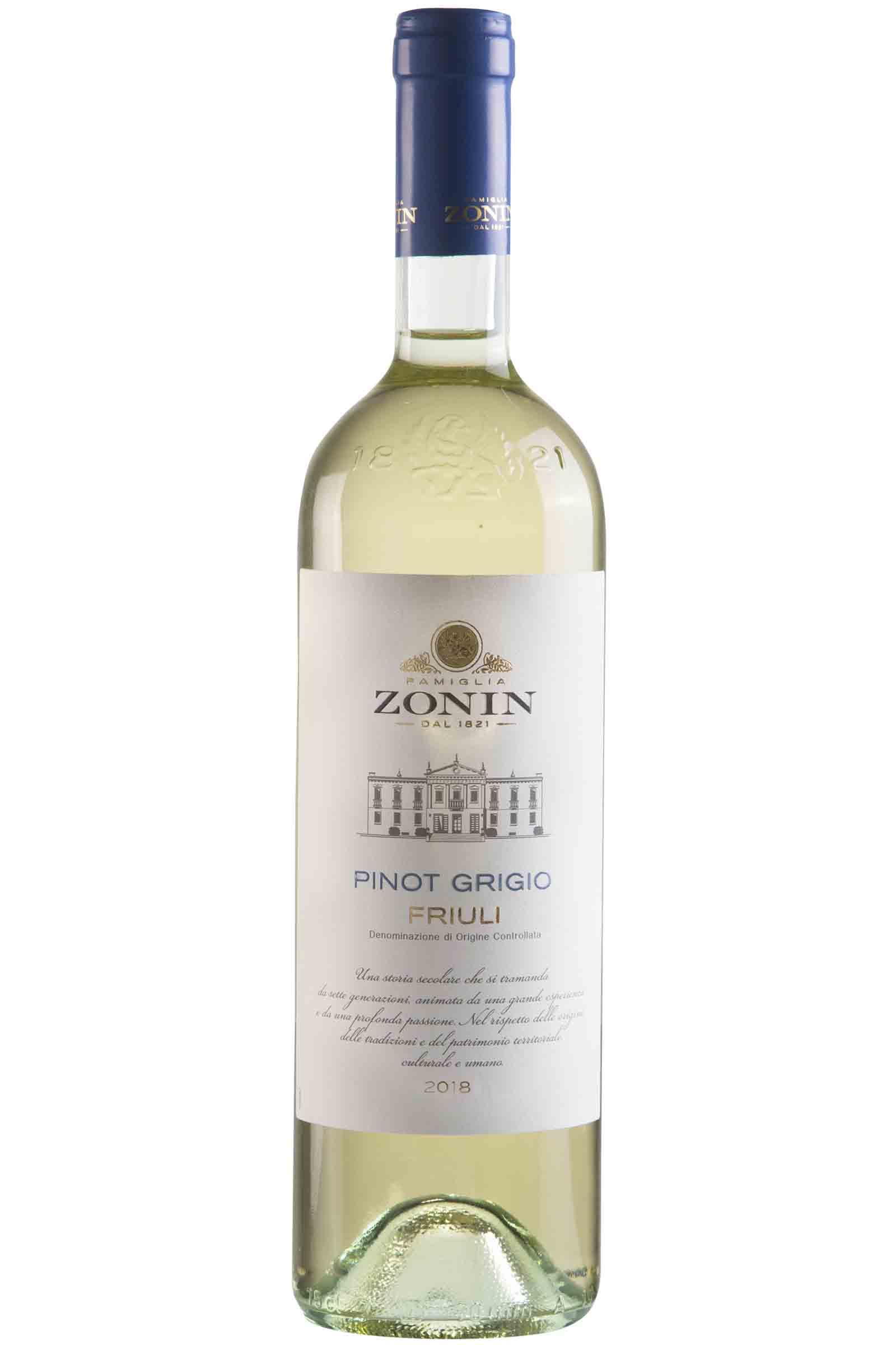Vino Zonin Pinot Grigio 750ml