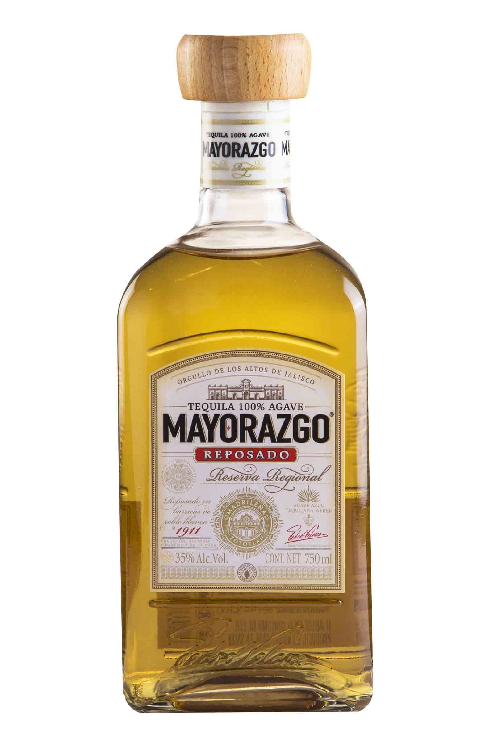 Tequila Mayorazgo Reposado 100% Agave 750ml