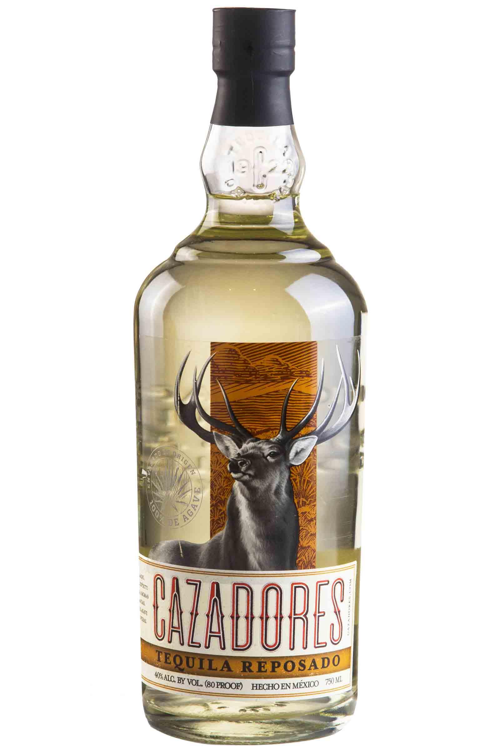 Tequila Cazadores Reposado 100% Agave 750ml