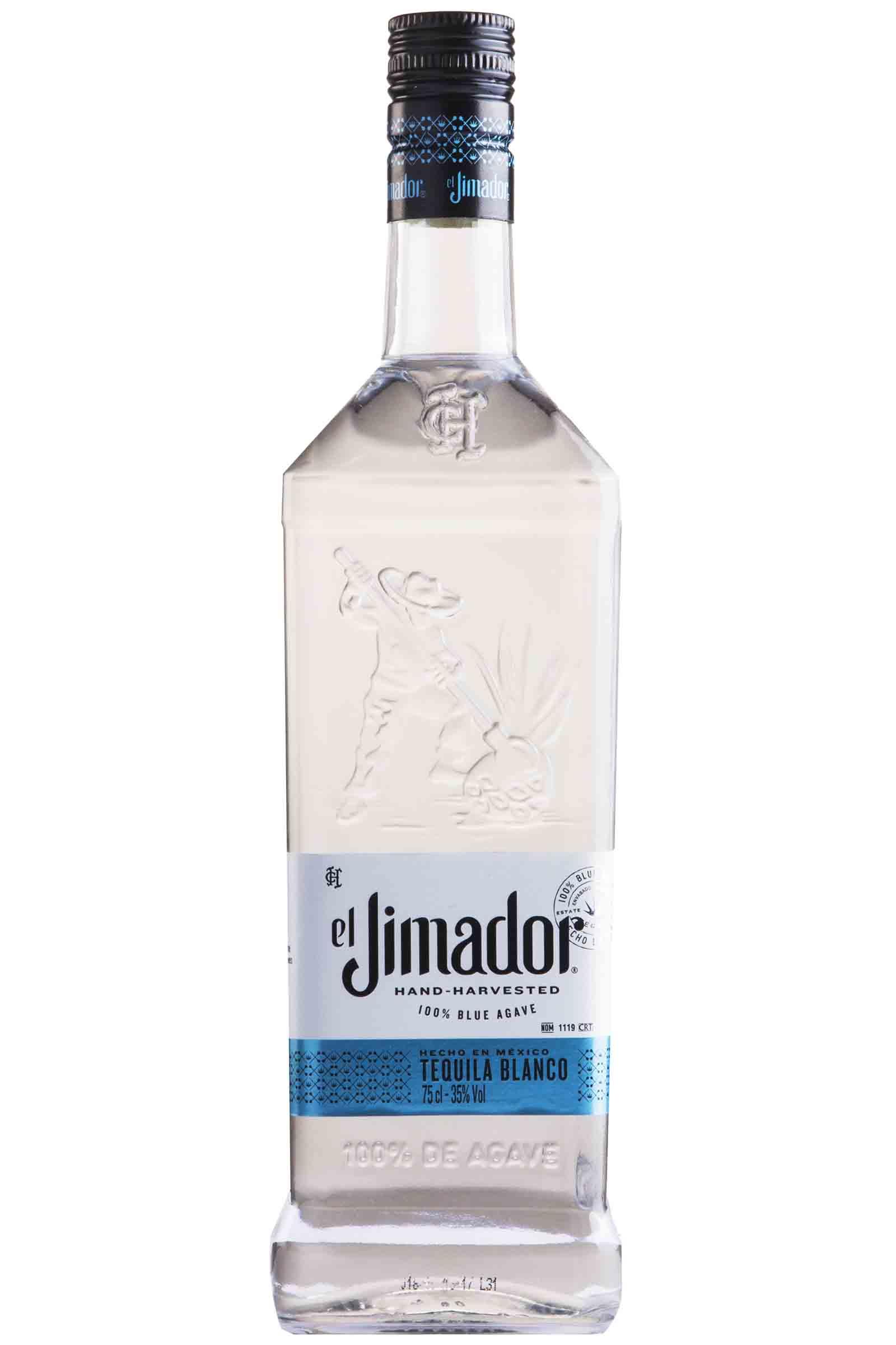 Tequila El Jimador Blanco 100% Agave 750ml