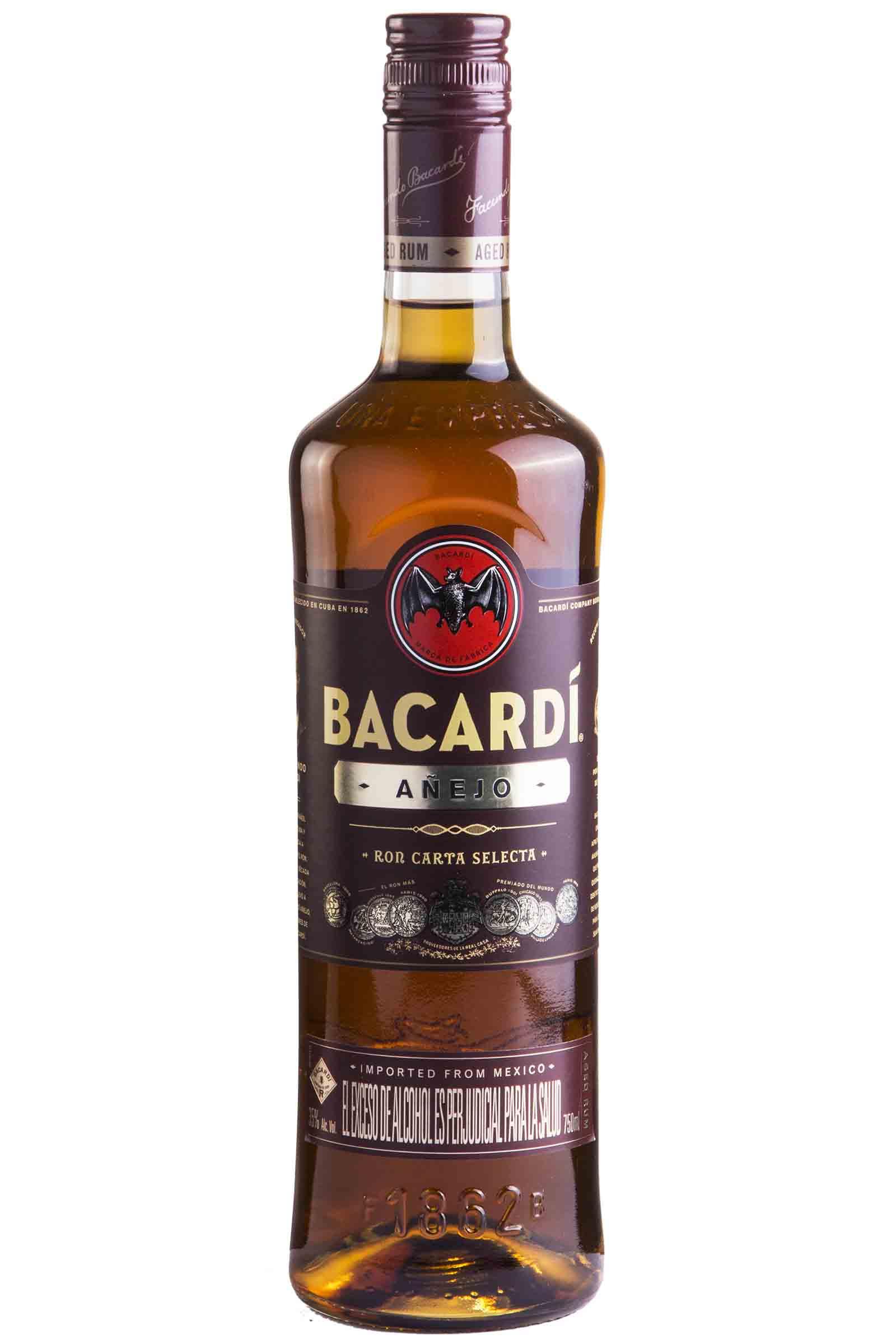 Ron Bacardi Añejo 750ml