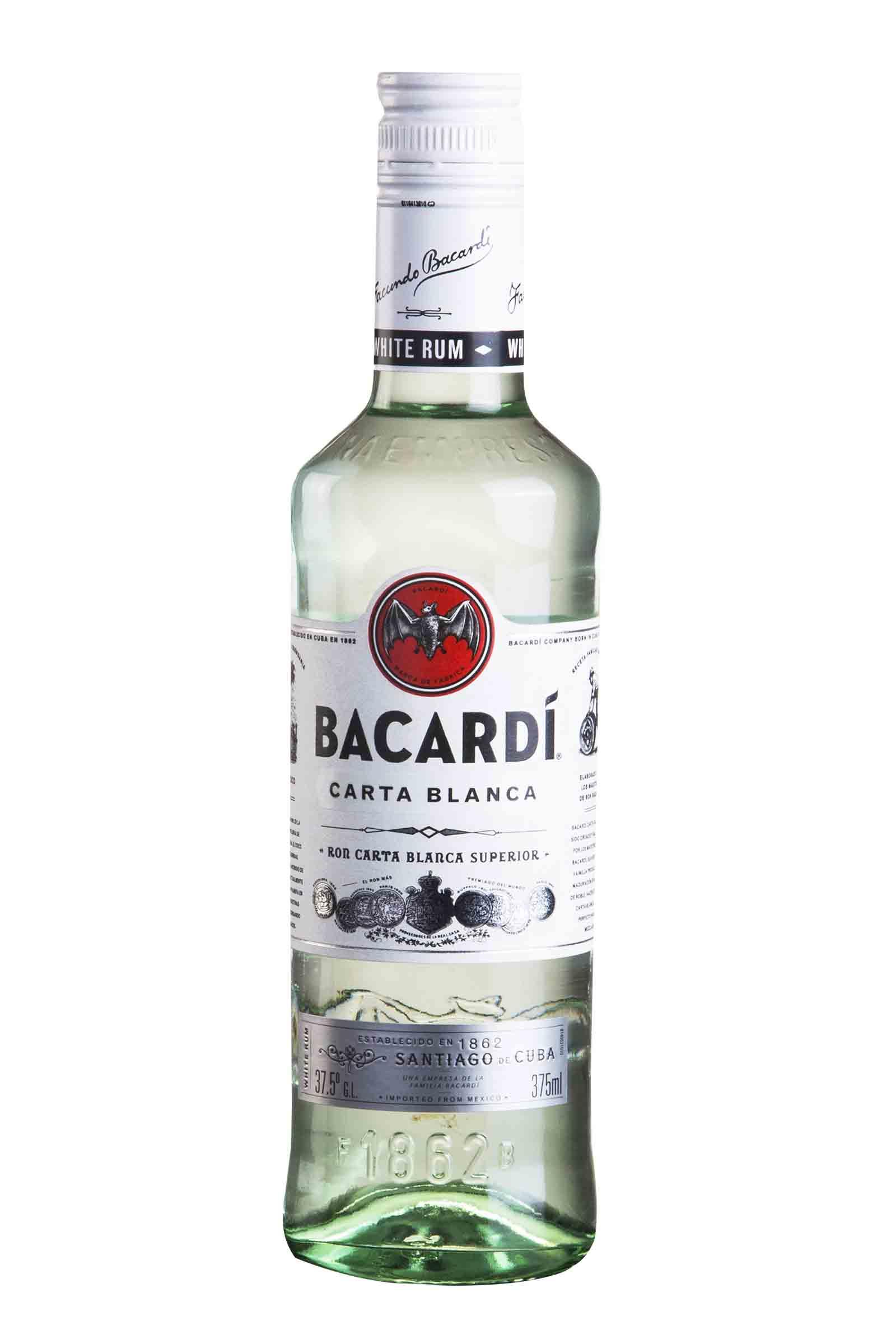 Ron Bacardi Carta Blanca 375ml
