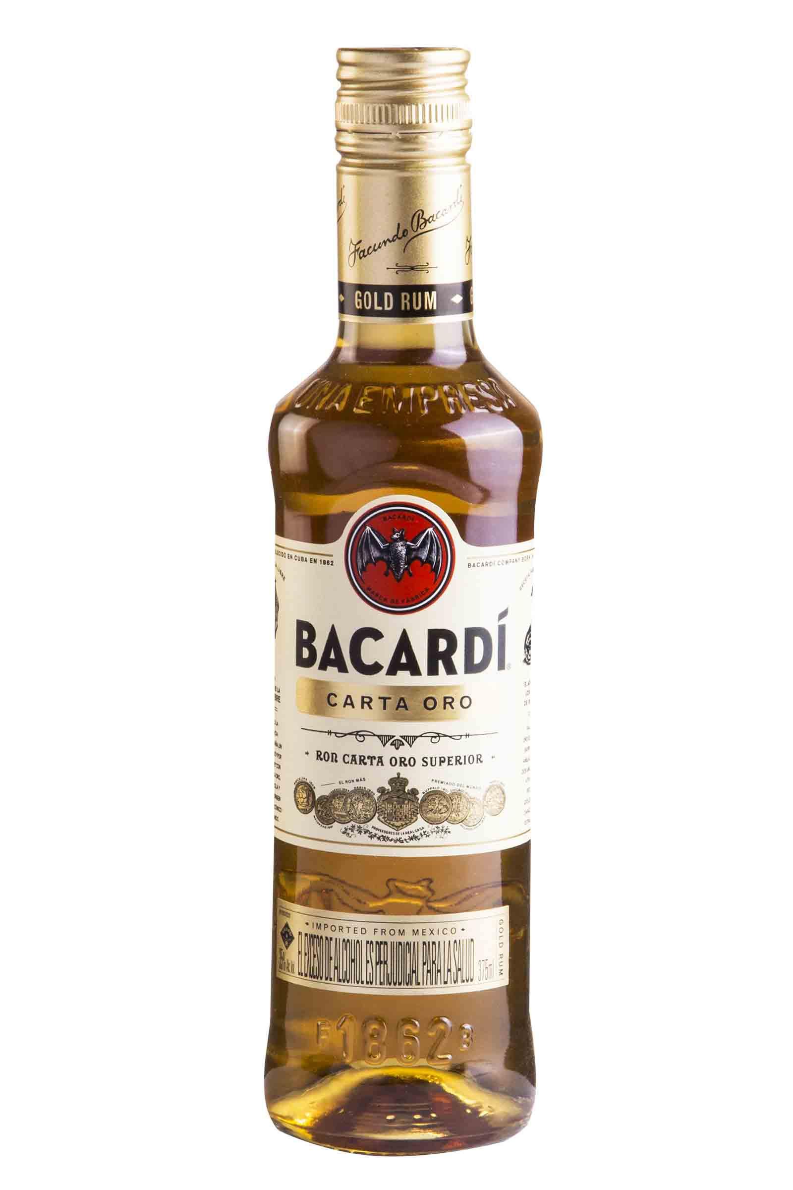 Ron Bacardi Carta Oro 375ml