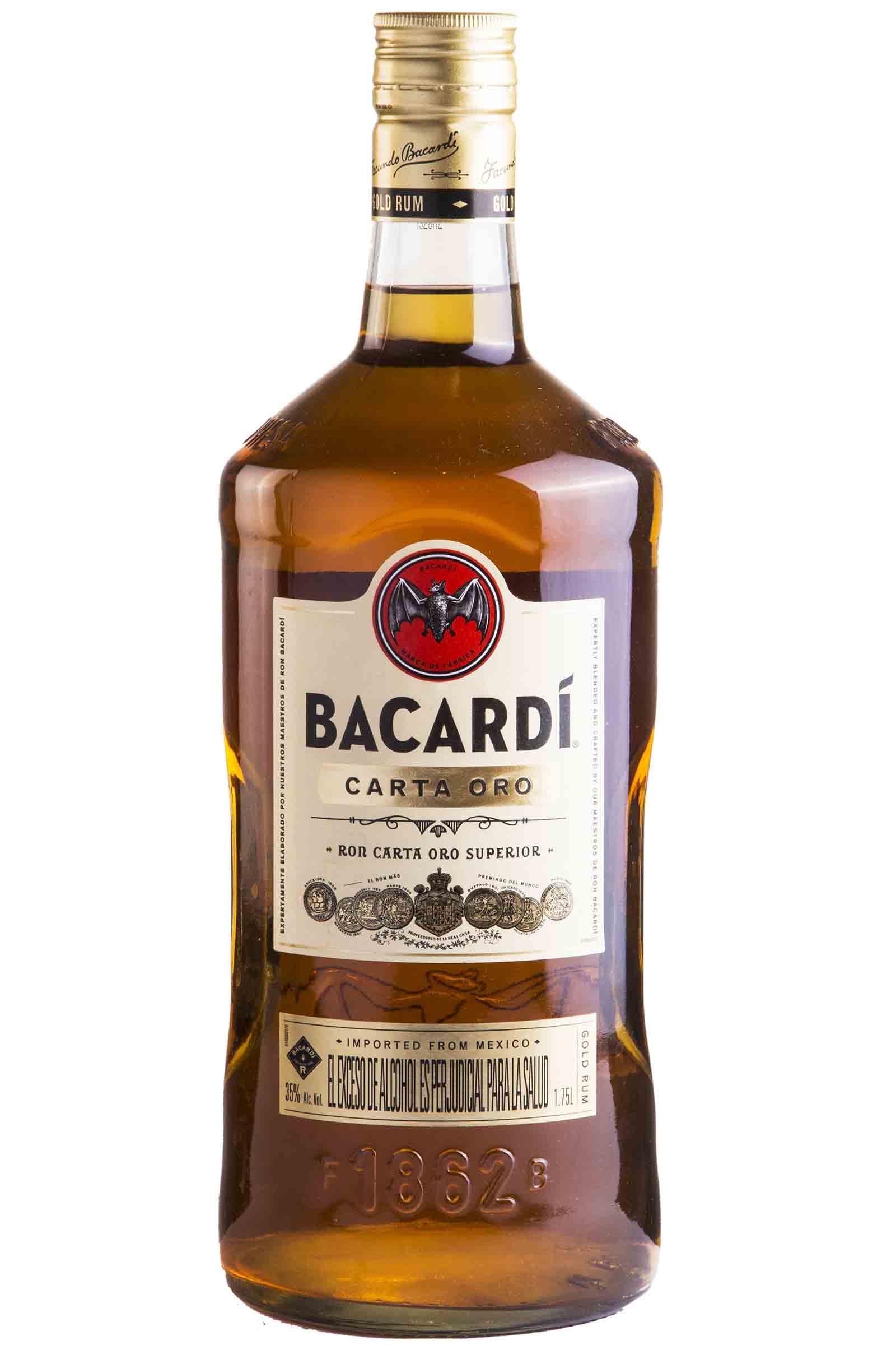 Ron Bacardi Carta Oro 1750ml