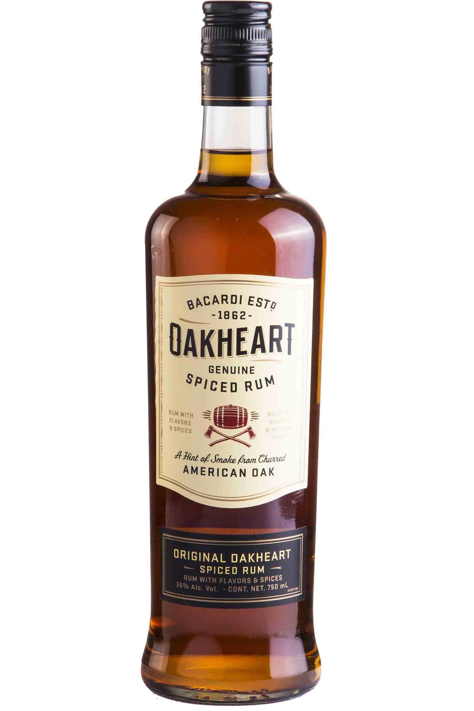 Ron Bacardi Oakheart Spiced 750ml