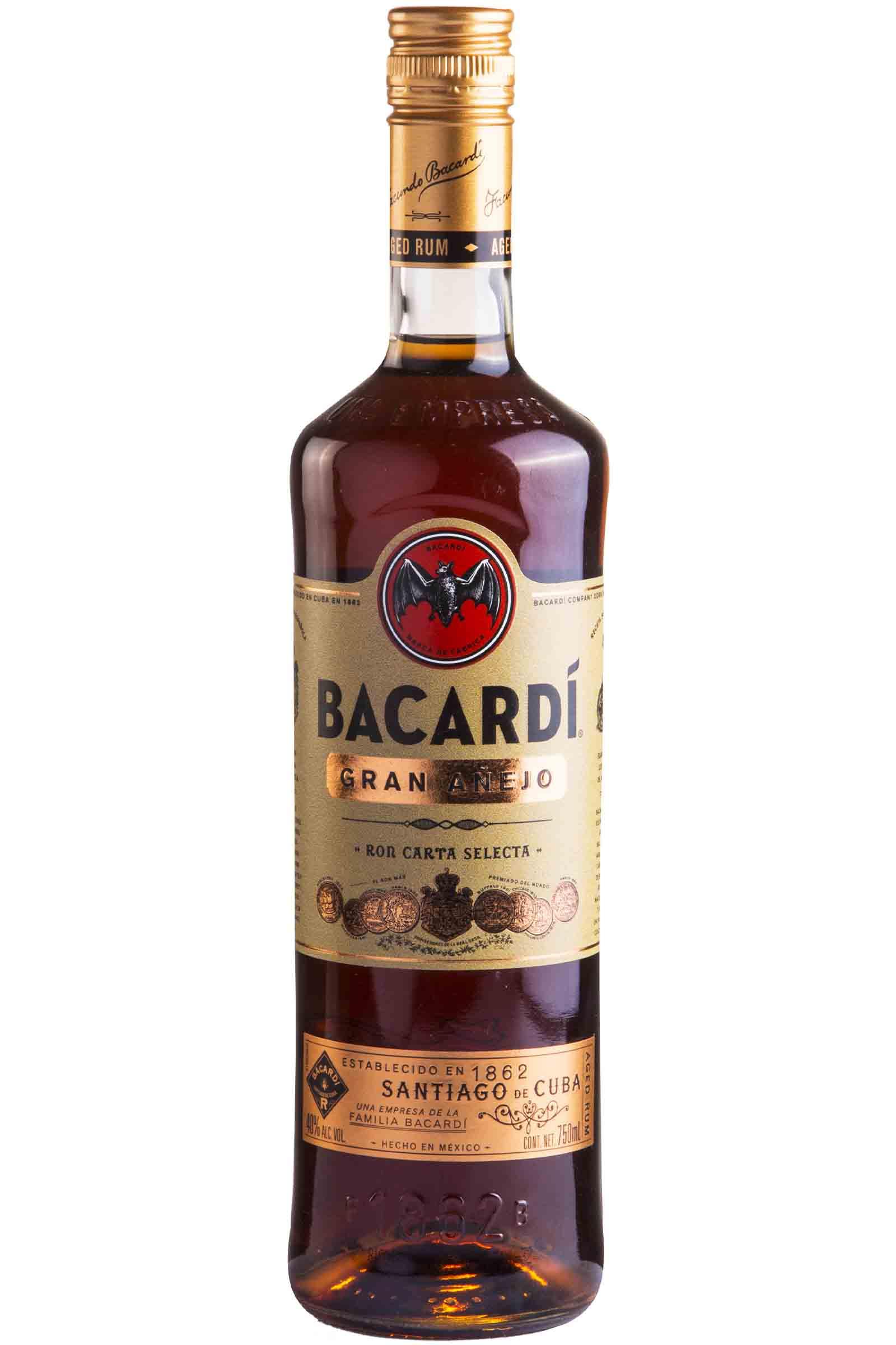 Ron Bacardi Gran Añejo 750ml
