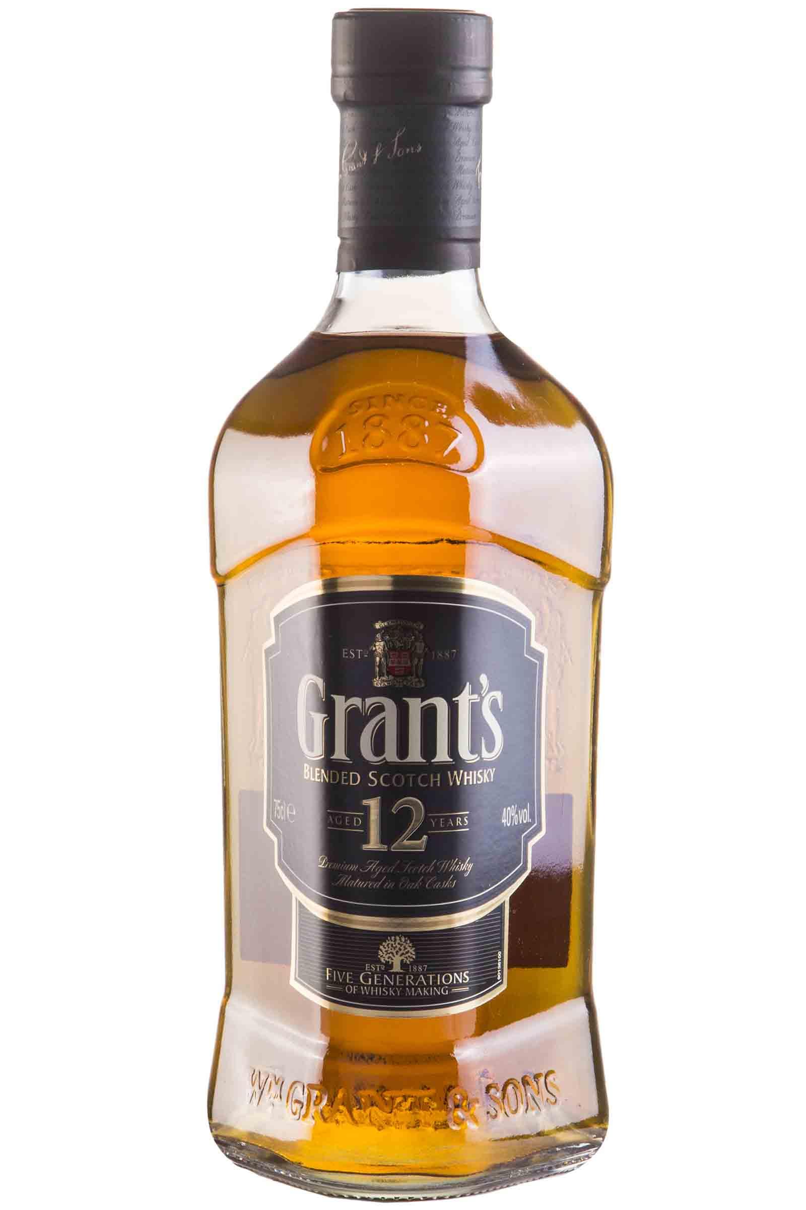 Whisky Grants 12 Años 750ml