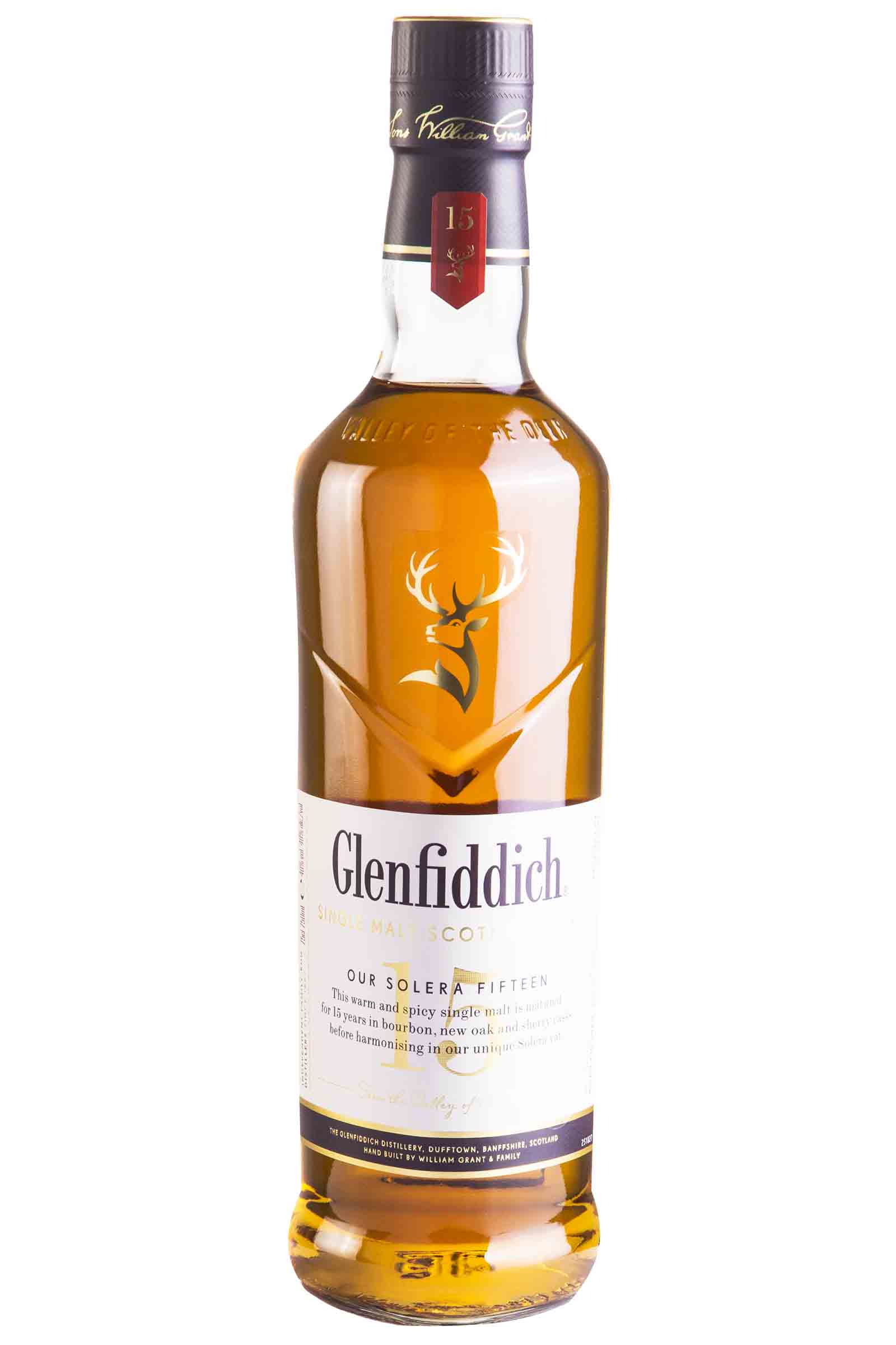 Whisky Glenfiddich Single Malt 15 Años 750ml