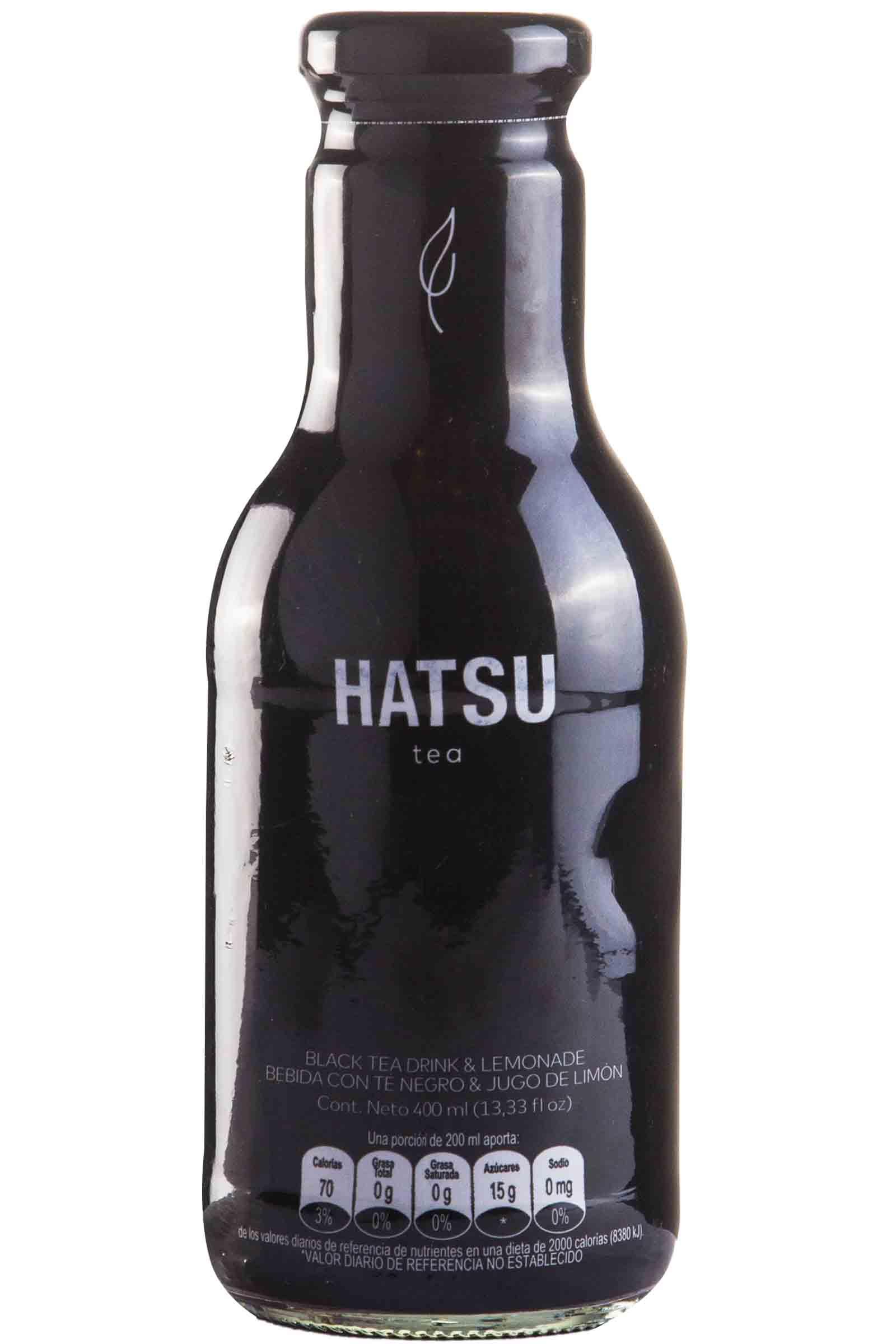 Hatsu Té Negro & Limonada 400ml