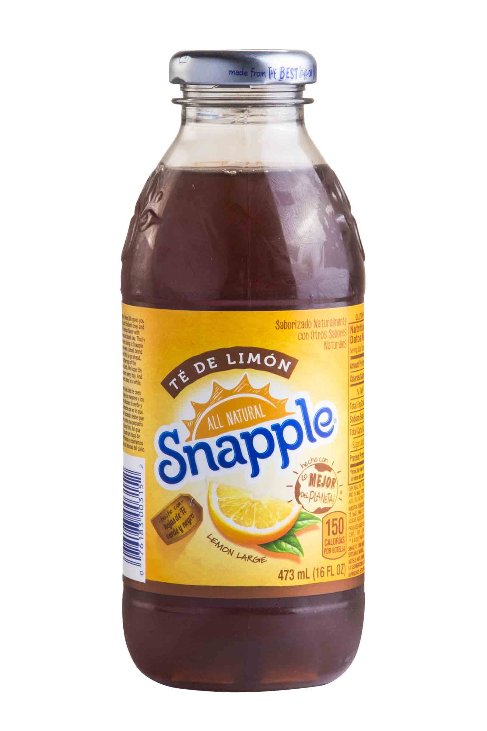 Té Snapple Limon 473ml