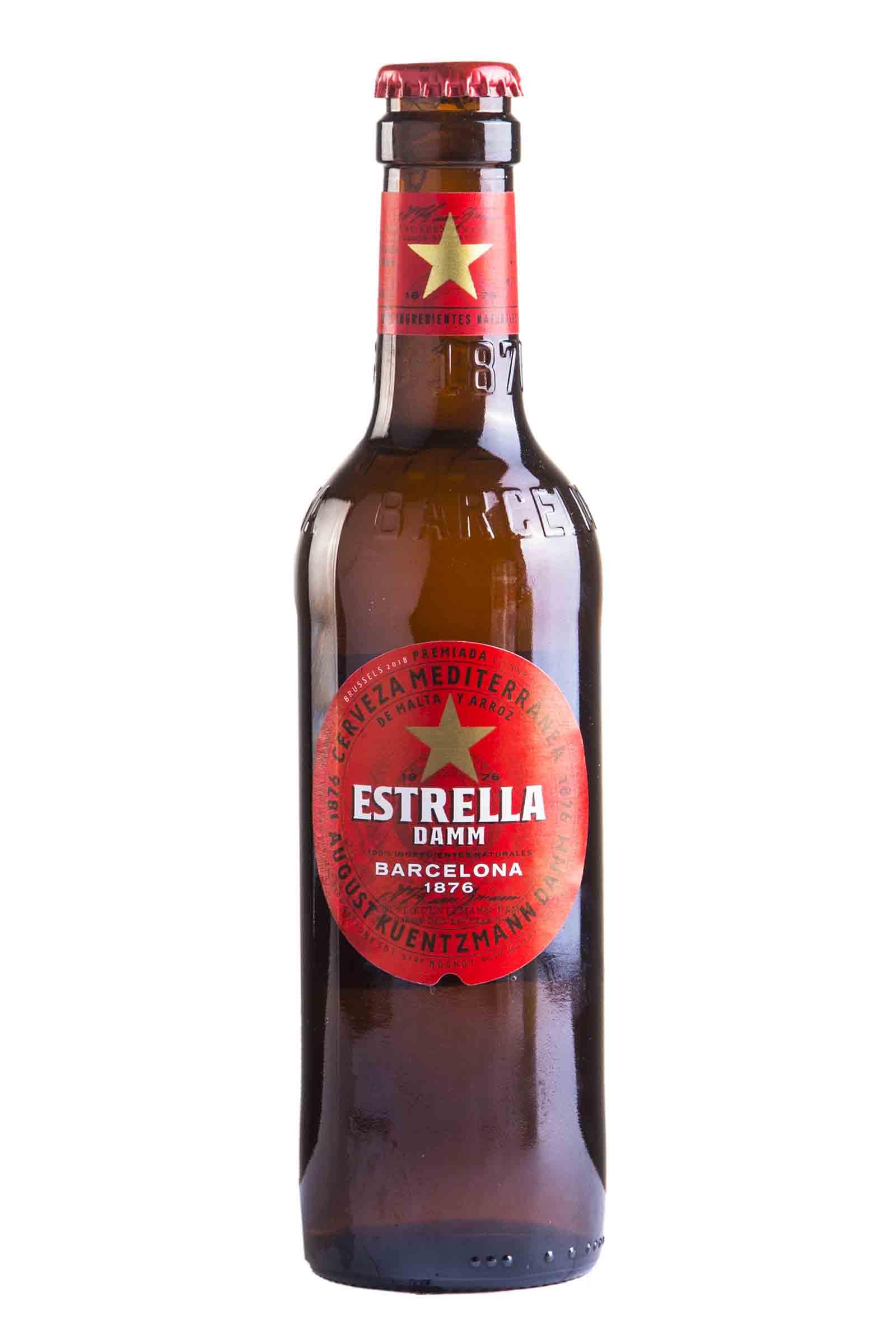 Cerveza Estrella Damm 330ml