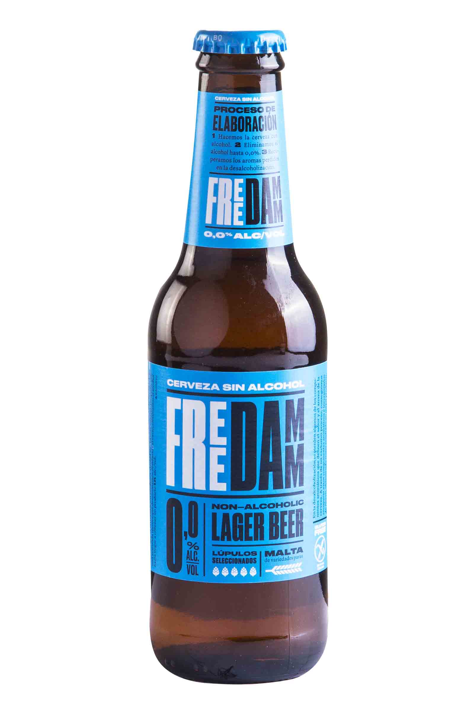 Cerveza Sin Alcohol Free Damm 250ml